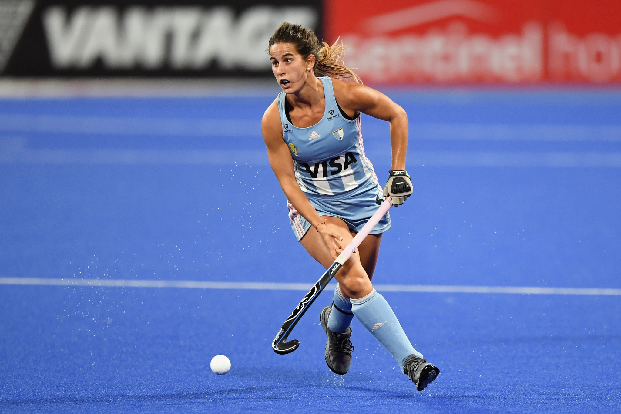 Argentina are currently second in the women's Hockey Pro League ©Getty Images