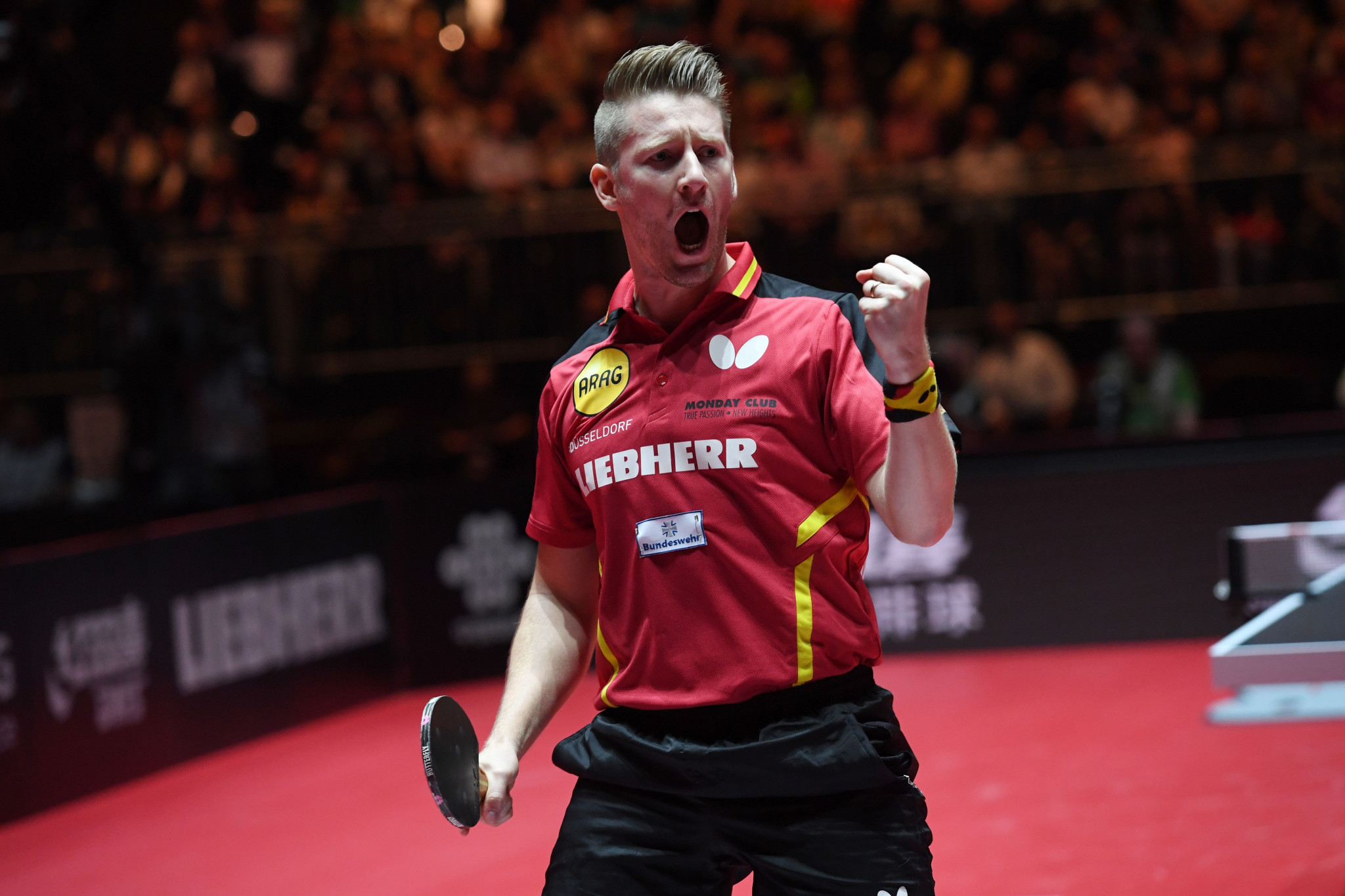 World number 42 Ruwen Filus of Germany reached the final of the WTT Star Contender in Doha after a six game victory over Darko Jorgic ©Getty Images