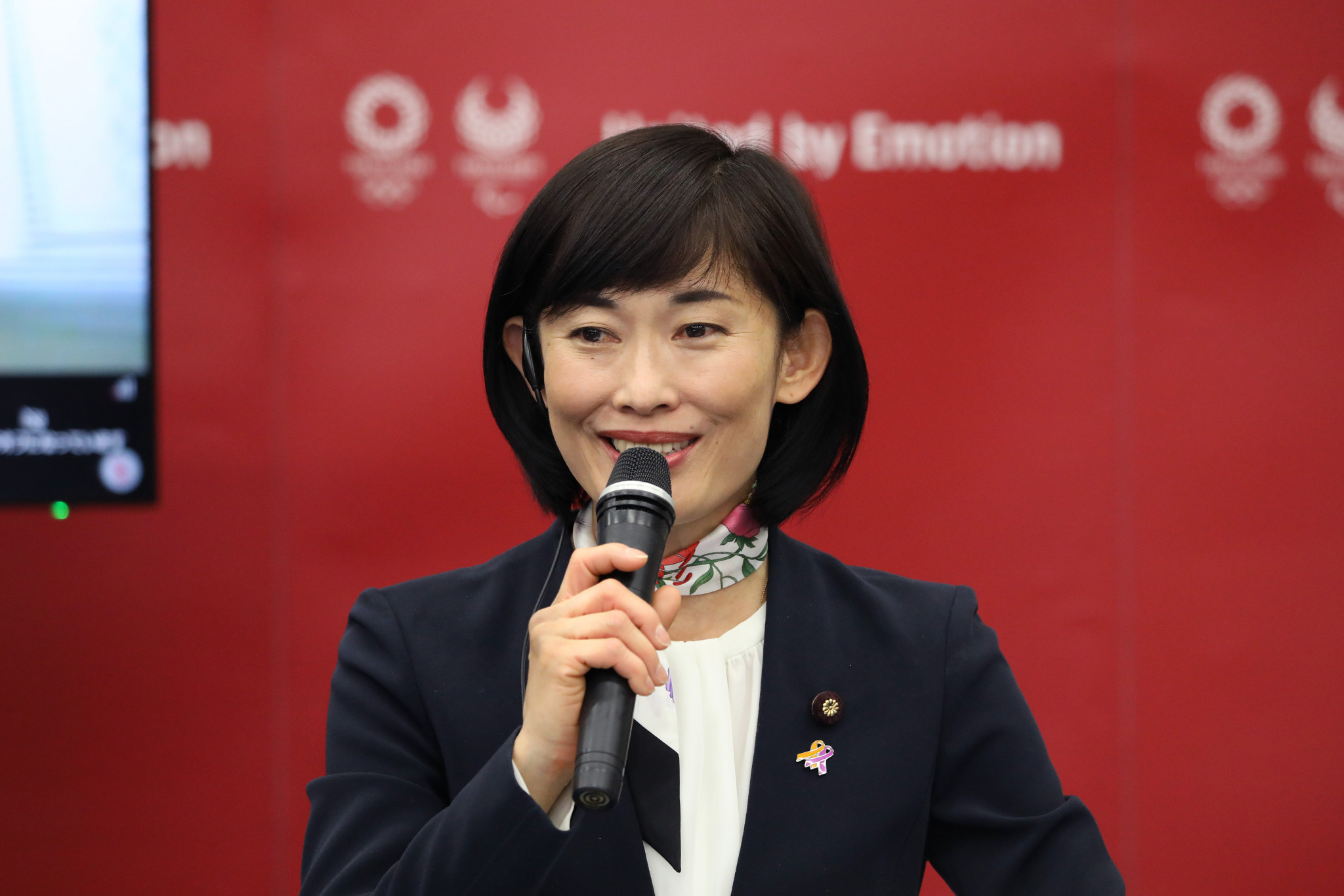 Japan's Olympics Minister Tamayo Marukawa said members of the host team will not receive the Chinese vaccines ©Getty Images