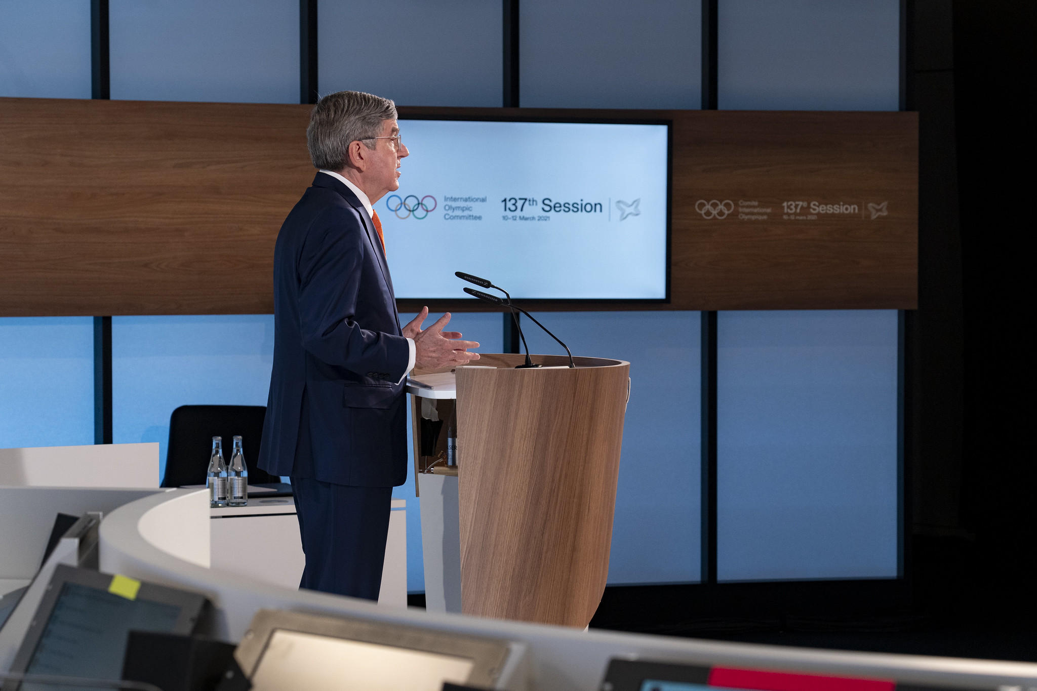 IOC President Thomas Bach said the new strategic roadmap would help prepare the organisation for a post-coronavirus world ©IOC