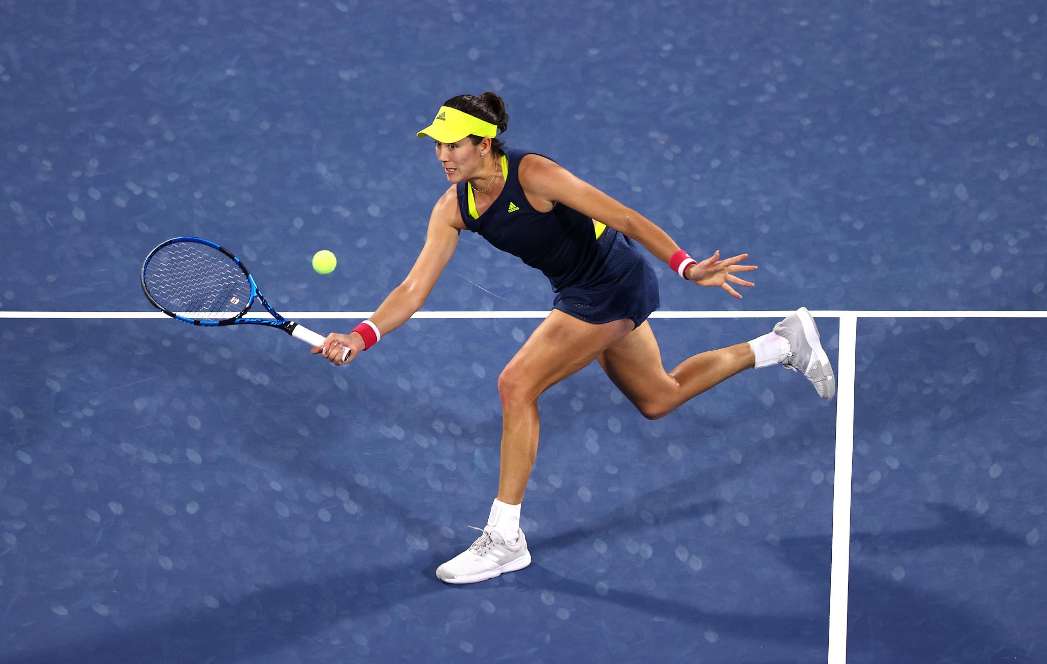 Muguruza to face Krejcikova in final of WTA Dubai Tennis Championships