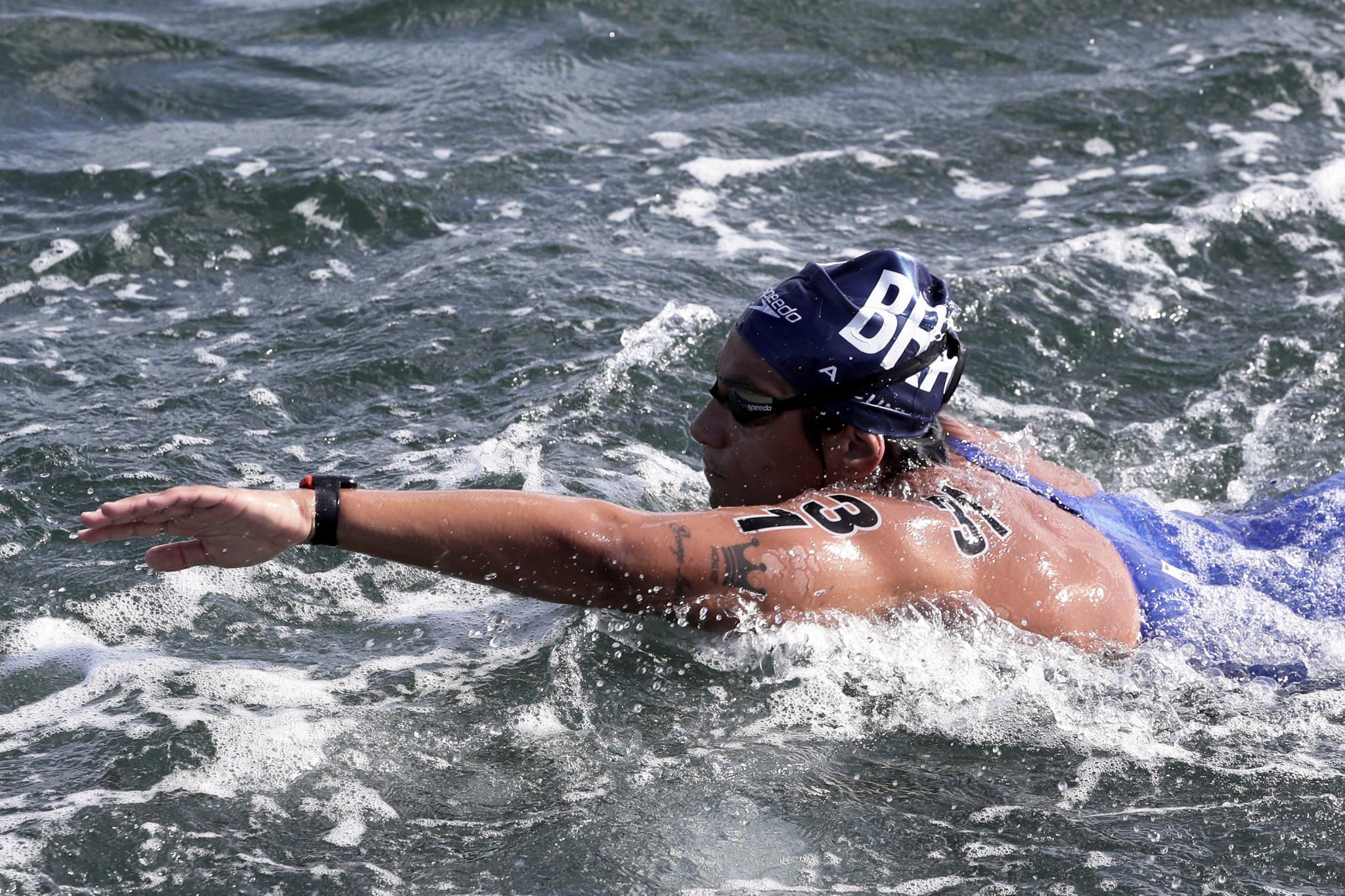 Cunha pips Cassignol at season-opening Marathon Swim World Series race
