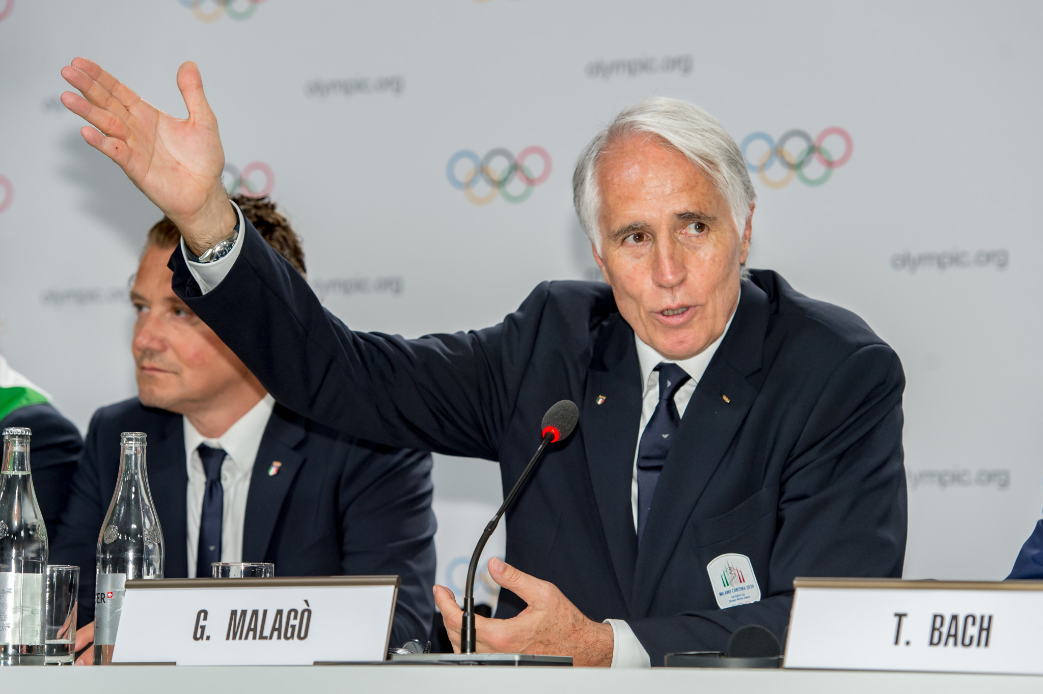 Giovanni Malagò has applauded the Italian Government's decision to appoint Valentina Vezzali ©Getty Images
