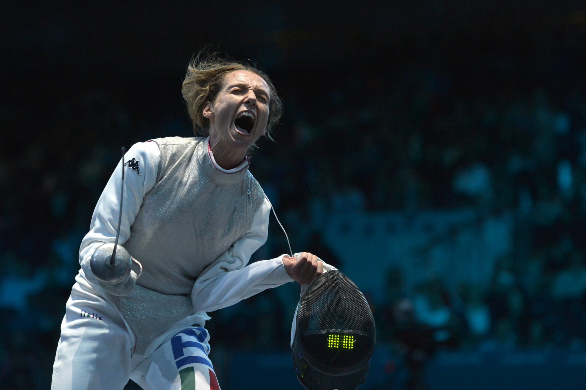 Vezzali claimed nine Olympic medals during her fencing career including six golds ©Getty Images