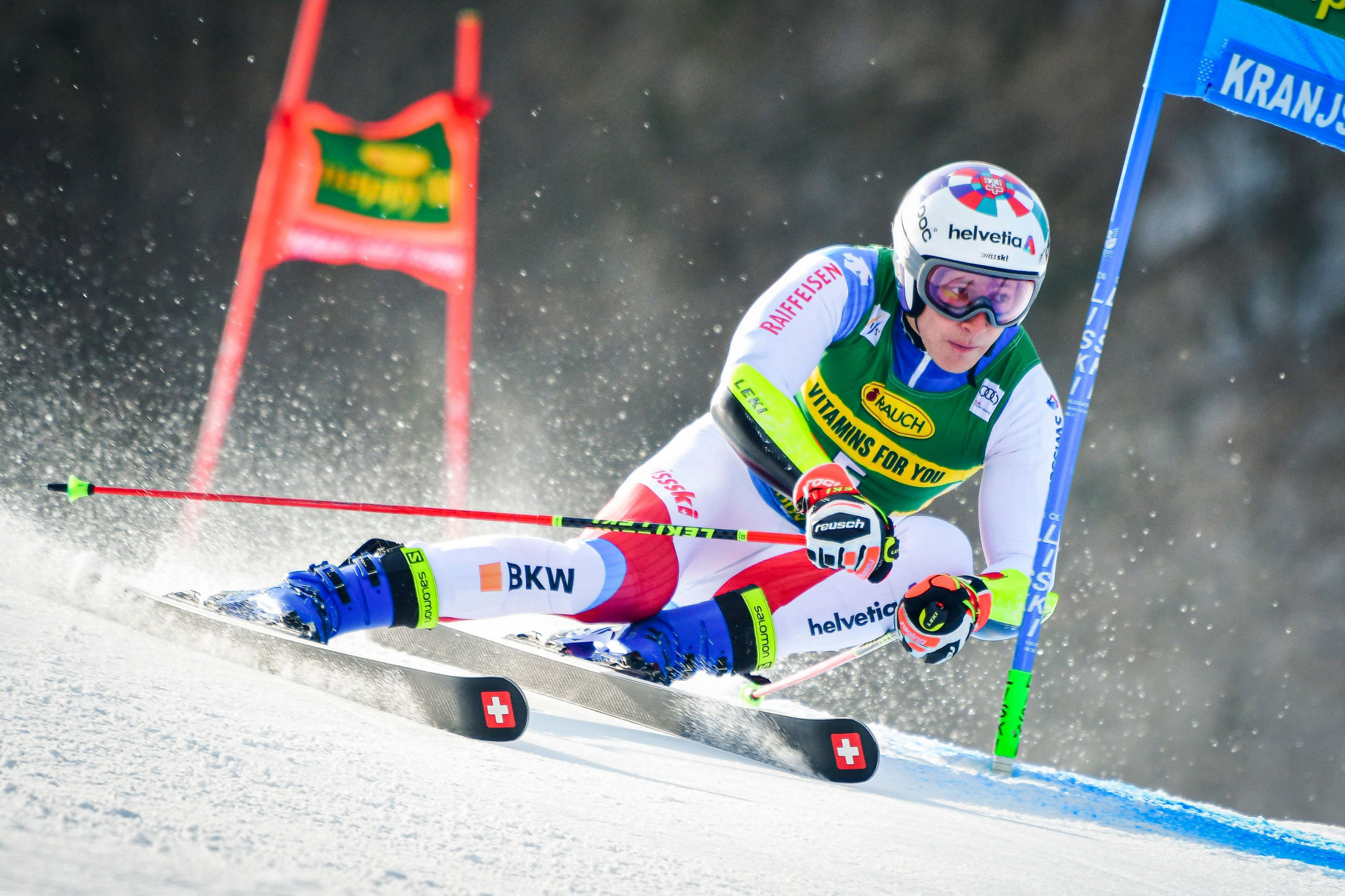 Marco Odermatt took the lead of the giant slalom standings in the FIS Alpine Ski World Cup ©Getty Images
