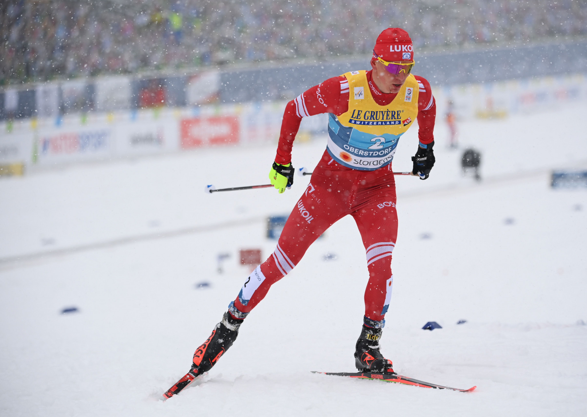 Bolshunov and Stupak triumph at FIS Cross-Country World Cup in Engadin
