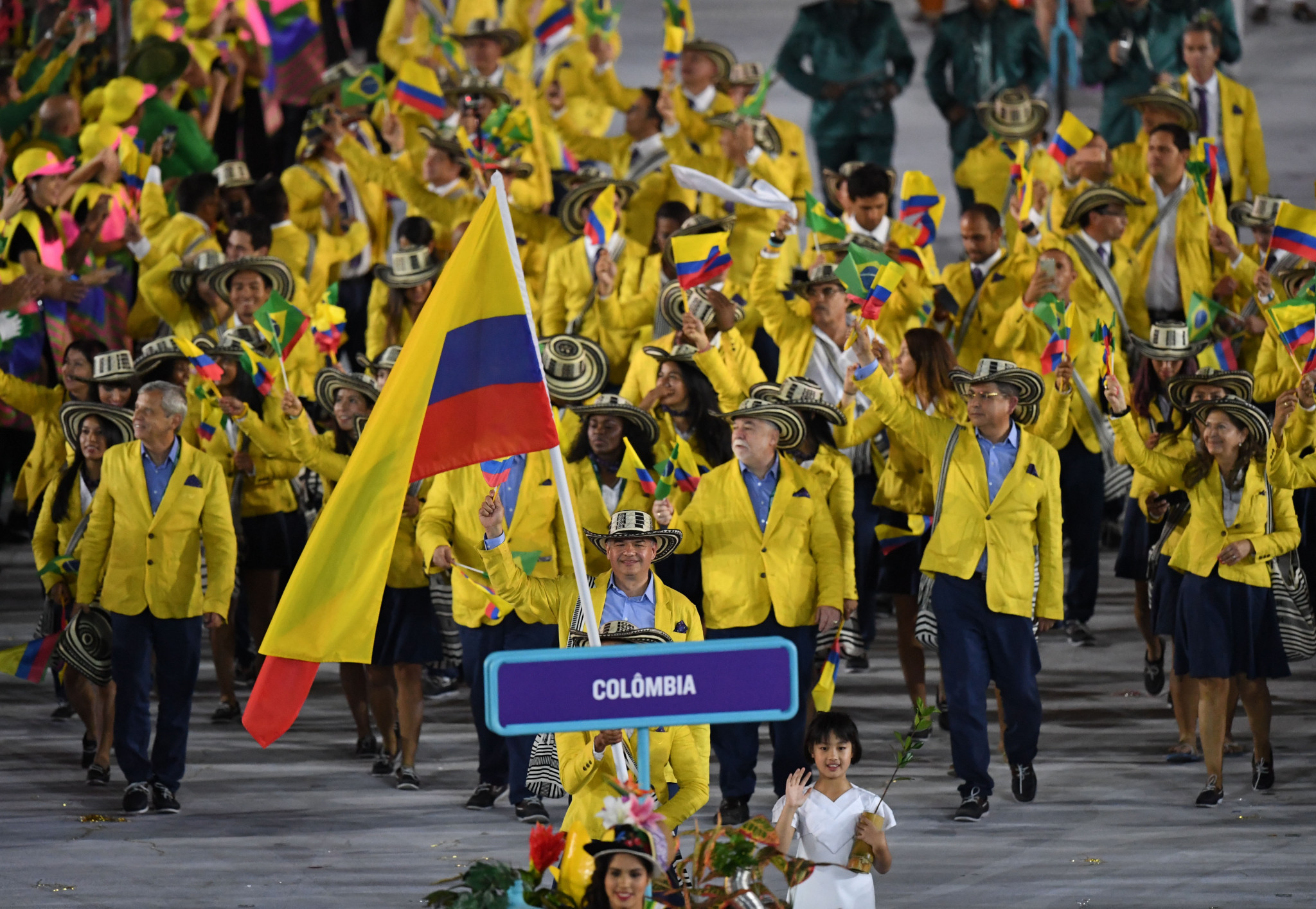 Colombia has appeared at 19 Summer Olympic Games so far ©Getty Images