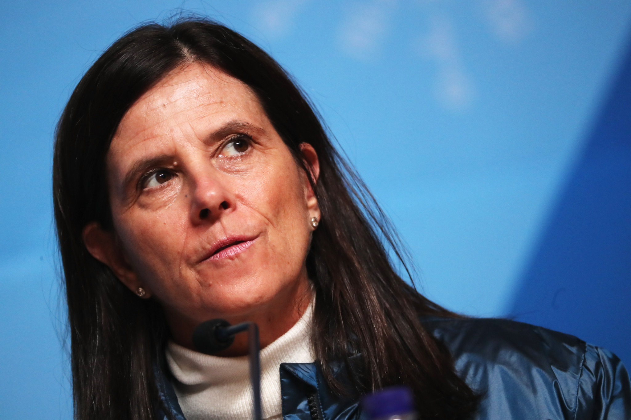 Lisa Baird experienced a baptism of fire when she began her role as NWSL commissioner ©Getty Images
