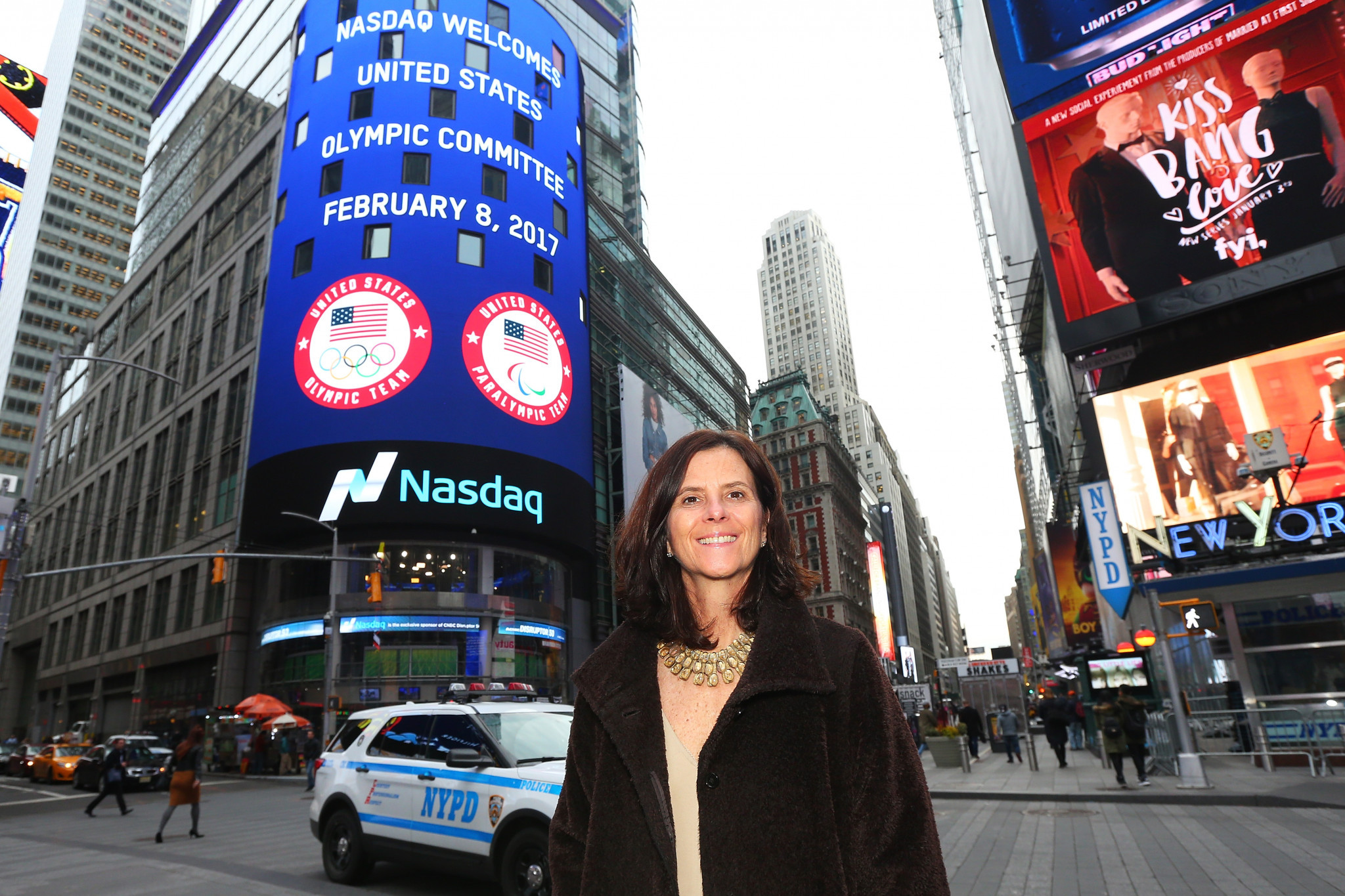 Lisa Baird spent nearly 10 years as chief marketing officer of the United States Olympic and Paralympic Committee ©Getty Images