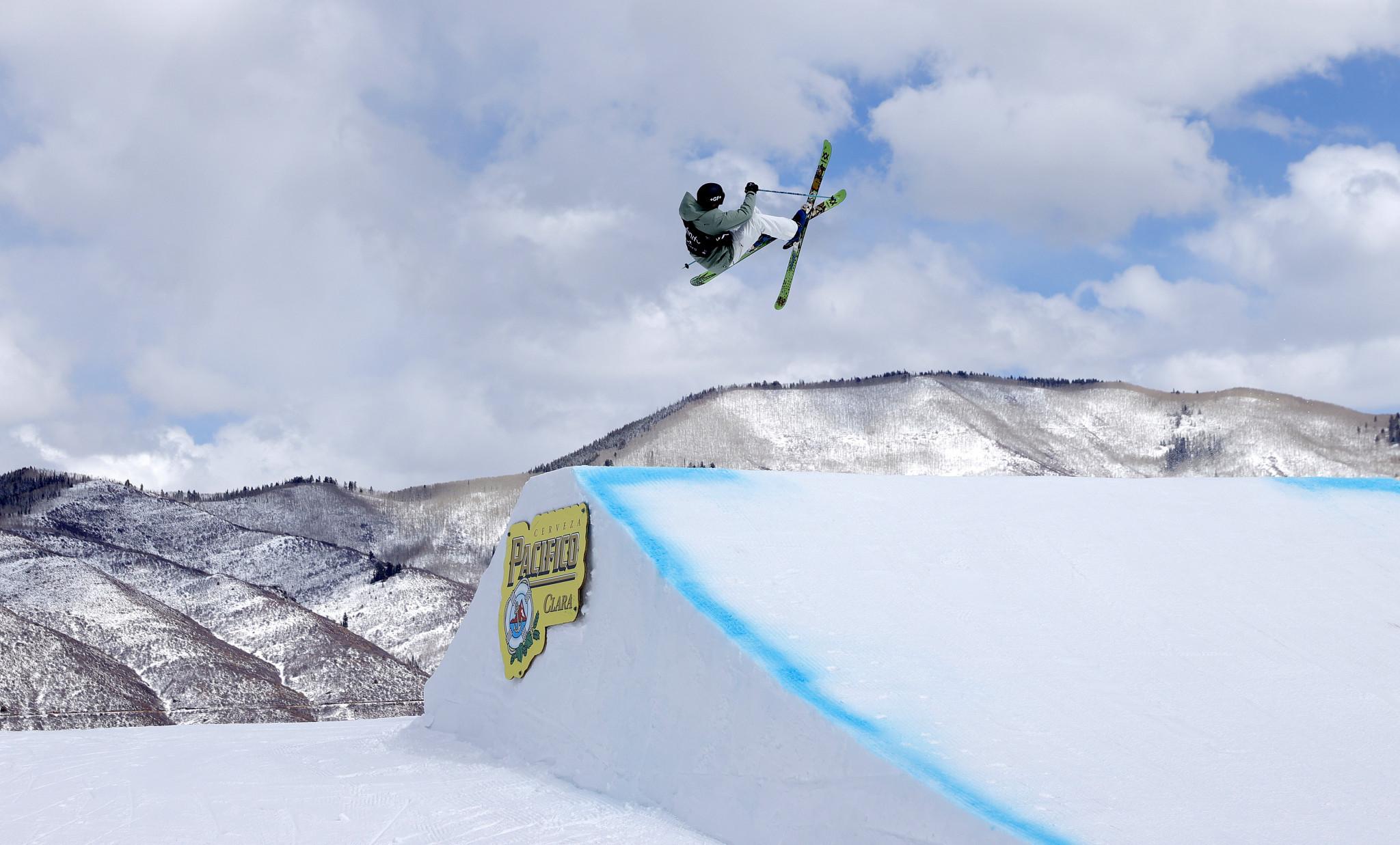 Andri Ragettli of Switzerland won gold in the men's freeski slopestyle in Aspen ©Getty Images