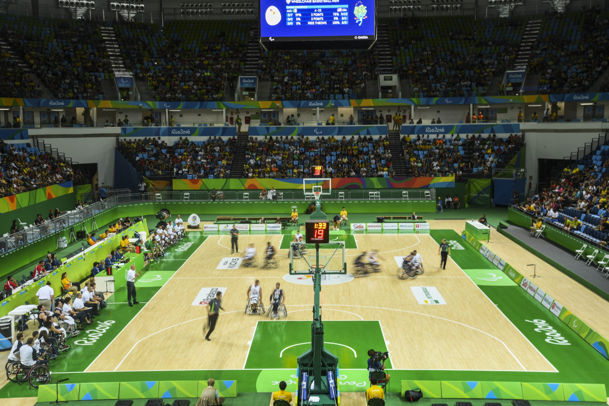Greek and Spanish translations of the updated 5x5 wheelchair basketball rules are out ©Getty Images