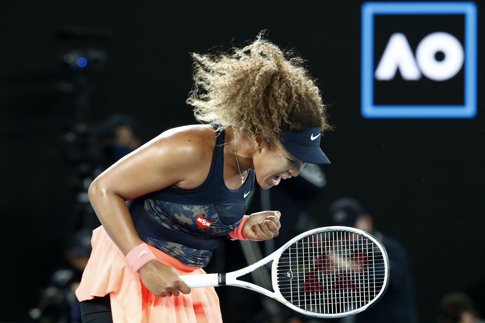 Sportswomen such as tennis star Naomi Osaka have recently invested in the NWSL ©Getty Images