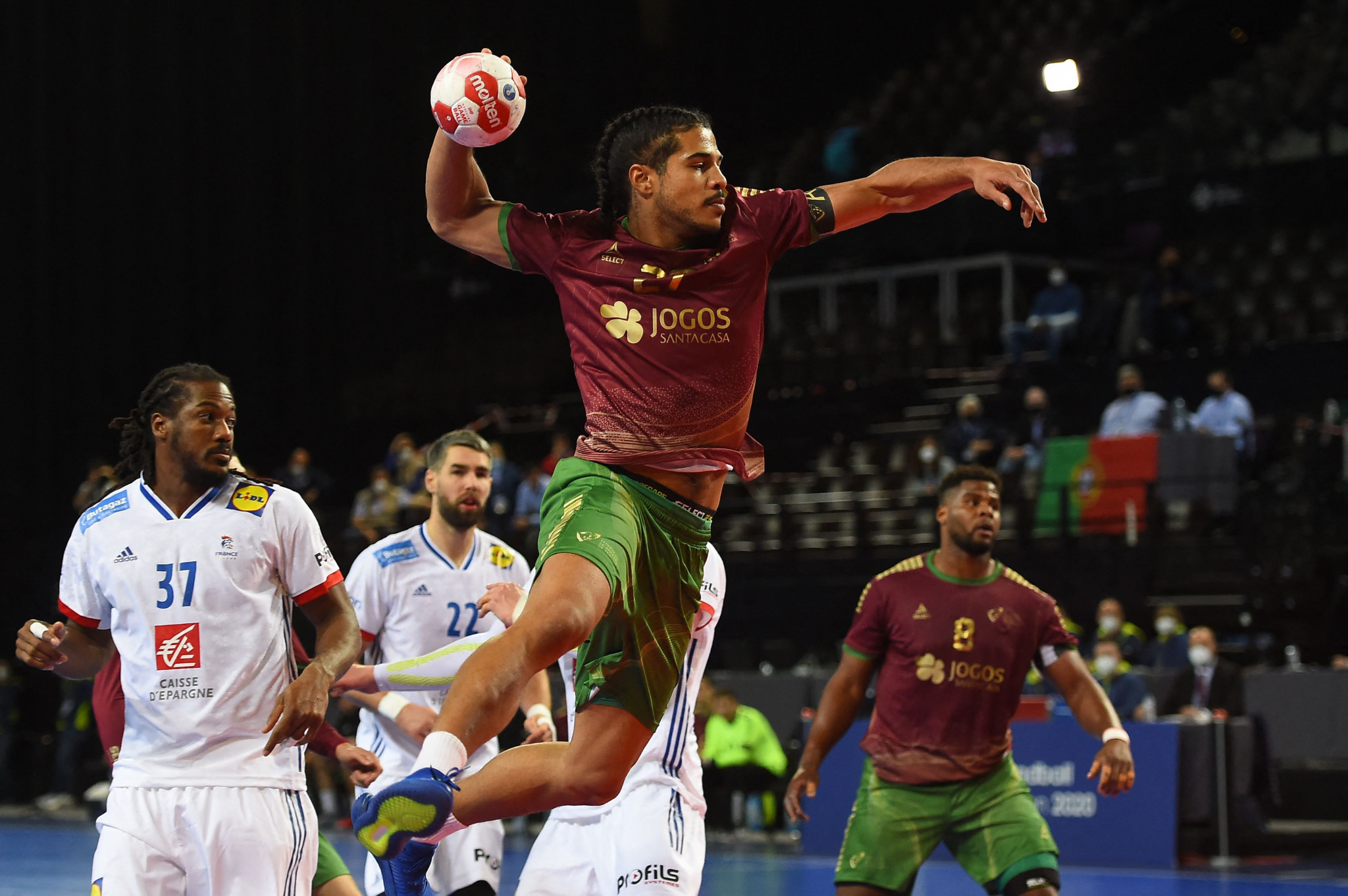 Portugal claimed their place in the Tokyo 2020 men's handball tournament after a dramatic win against France ©Getty Images