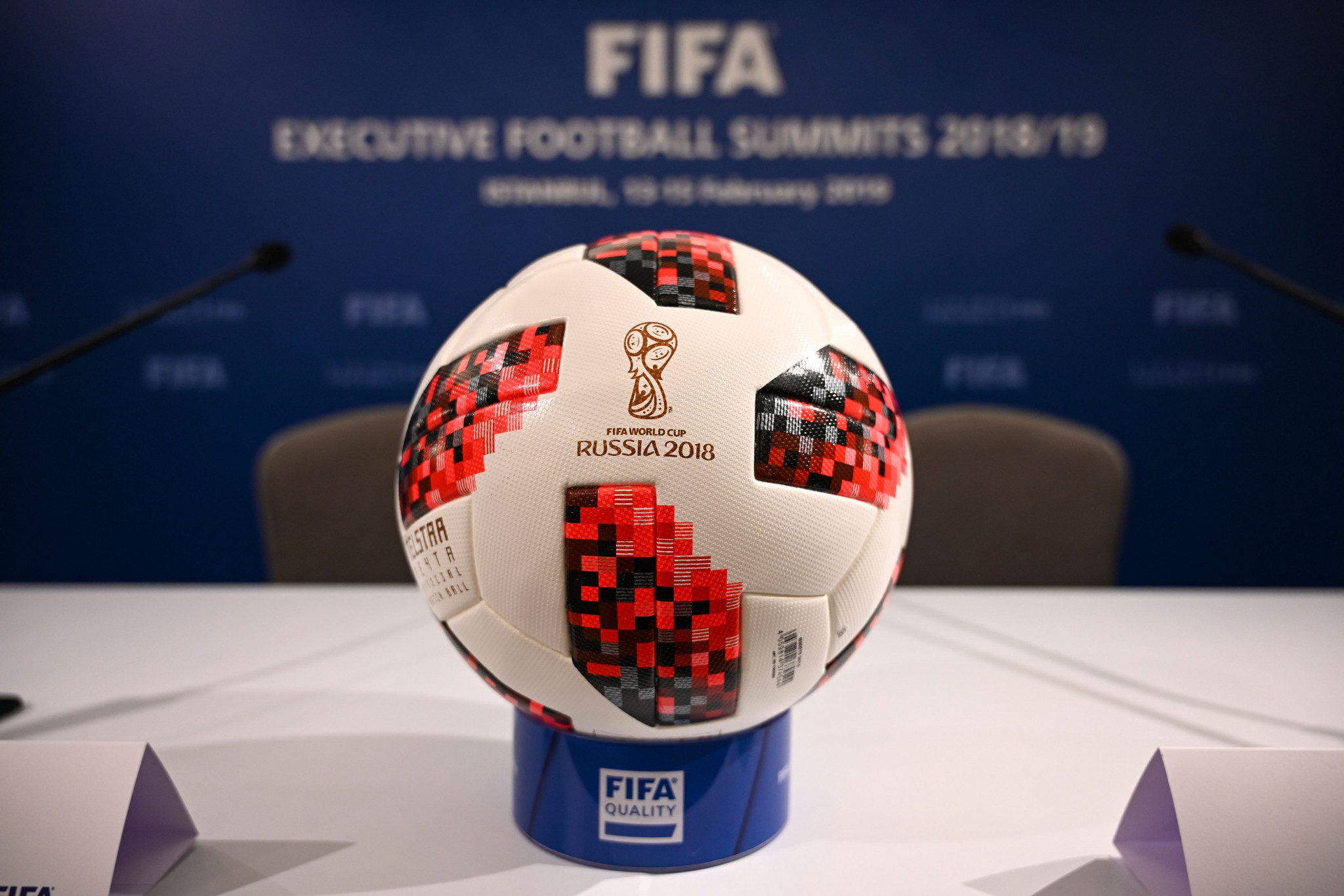 The Russian doping scandal dominated the build-up to the 2018 FIFA World Cup in the country ©Getty Images