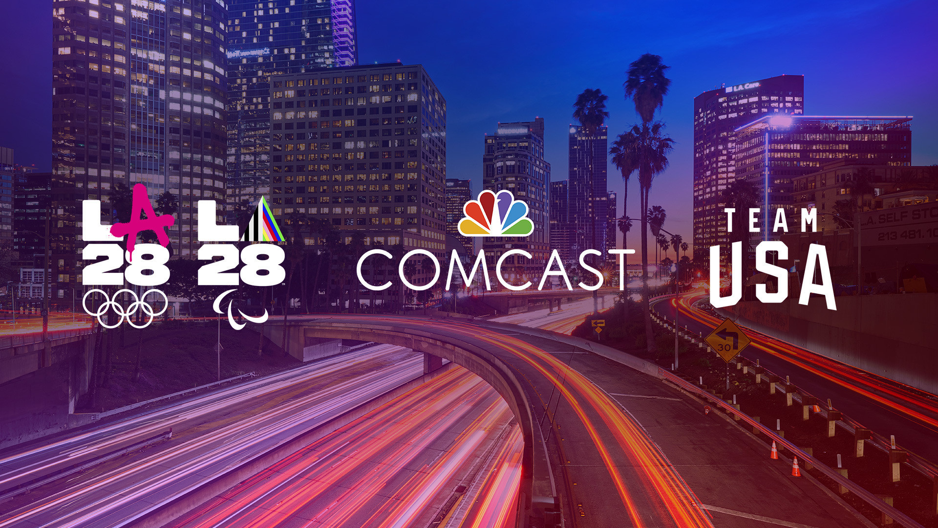 Telecommunications conglomerate Comcast has become the second founding partner of the Los Angeles 2028 Olympics and Paralympics ©LA28