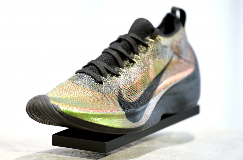 A Nike Vaporfly Elite shoe - one of the range of new technological advances for road and track footwear that could help a number of world records to be broken at this summer's scheduled Tokyo 2020 Olympics, according to World Athletics President Sebastian Coe ©Nike