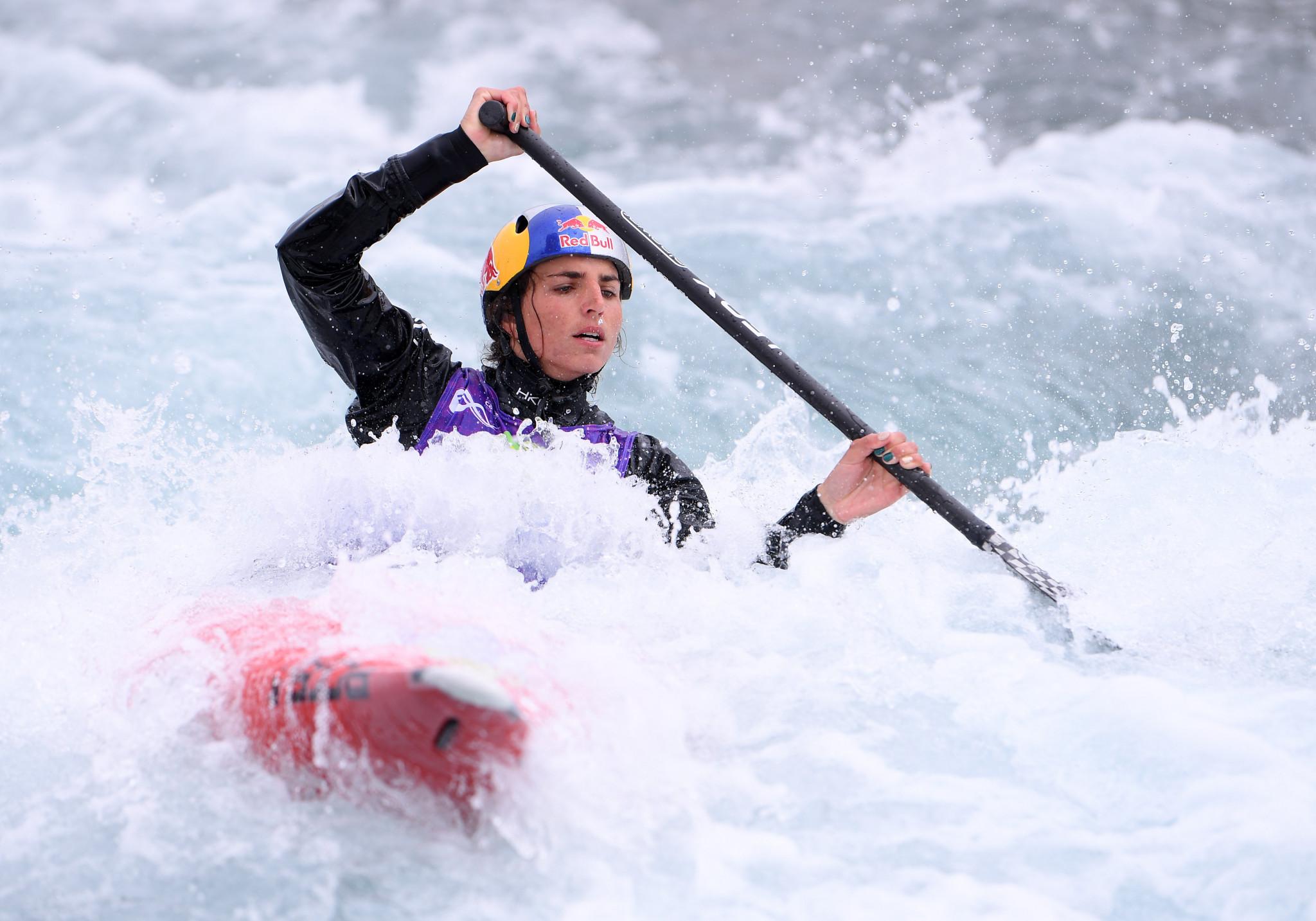 Australian Olympic canoe slalom team return with victories following COVID-19 break