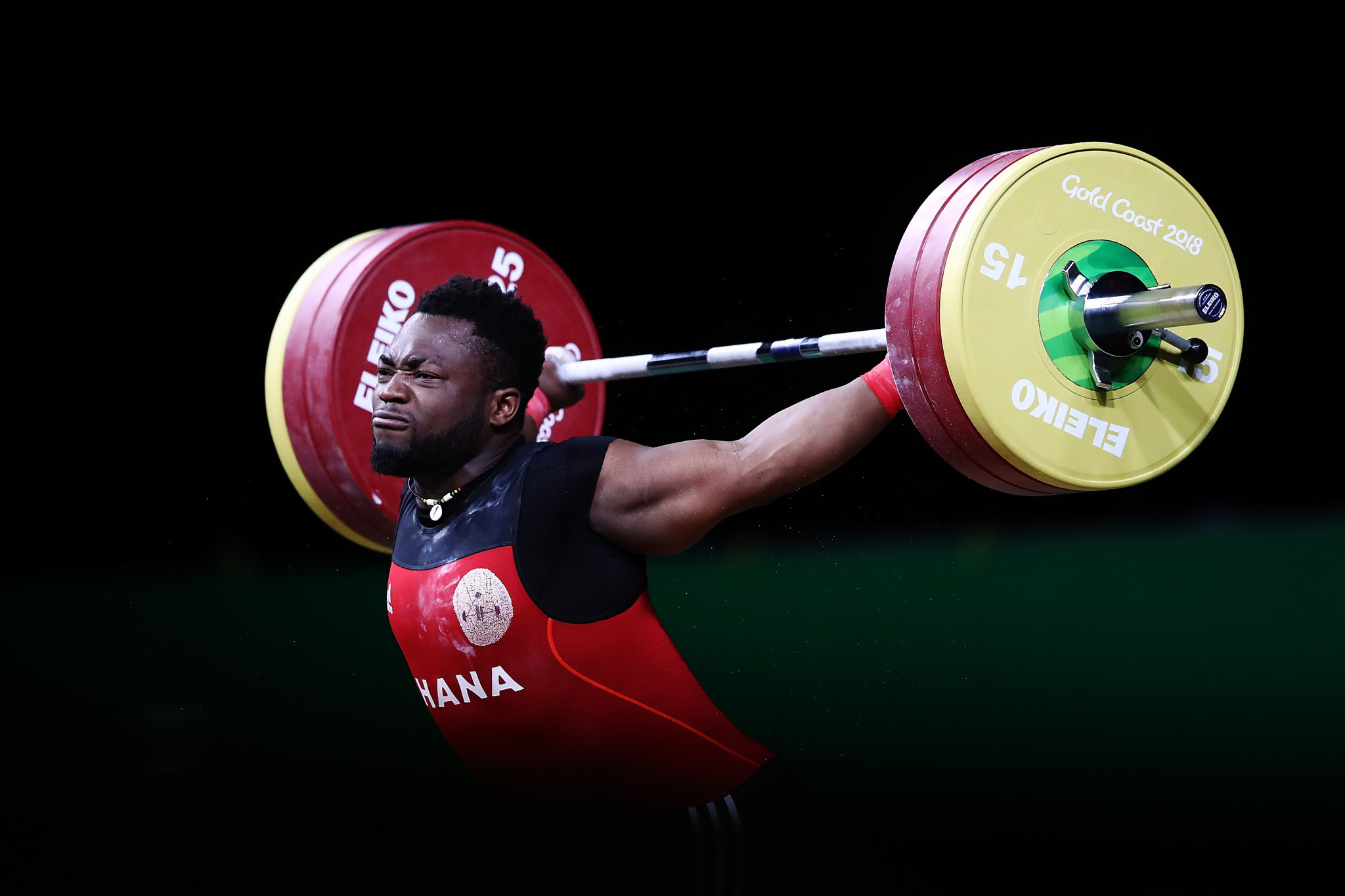 London-based Ghanaian weightlifter Forrester Osei is among those set to face a complicated and expensive journey to Madagascar and back ©Getty Images