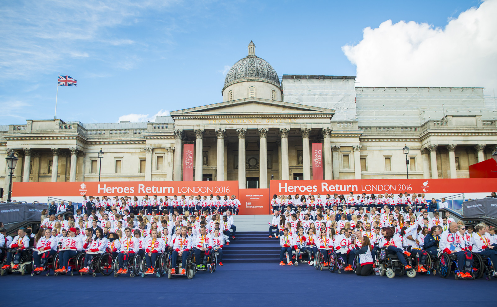 National Lottery operator Camelot has become an official partner of ParalympicsGB and an official supporter of Team GB ©TeamGB