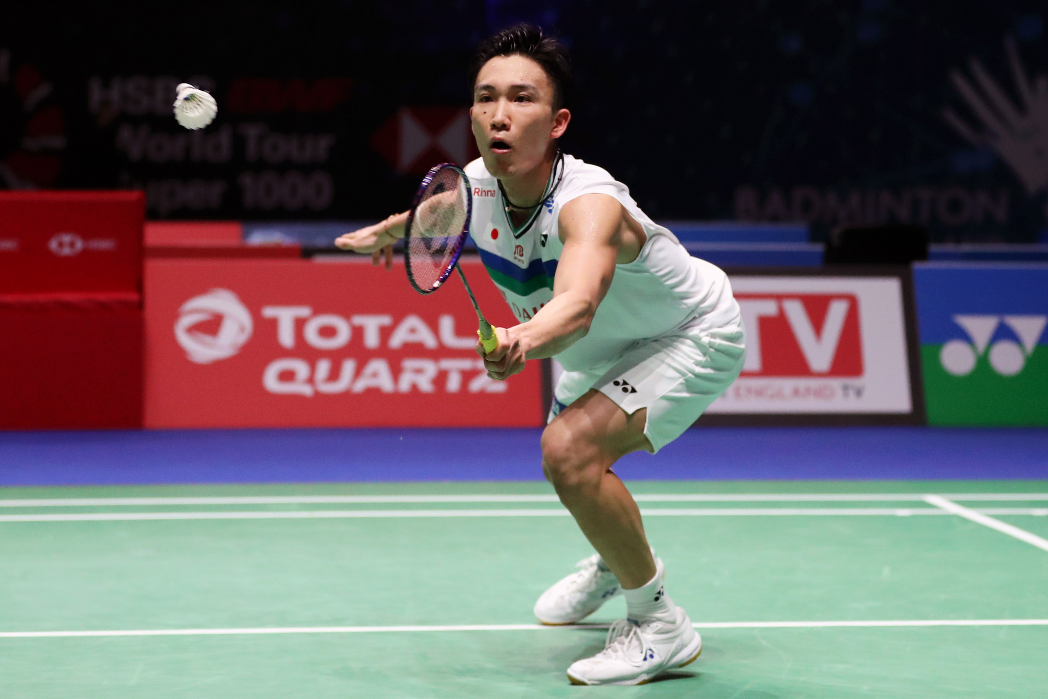 Kento Momota overcame Parupalli Kashyap in his first international match in more than a year ©Getty Images