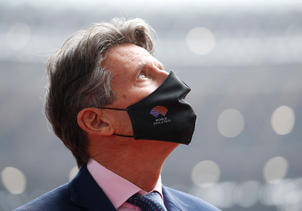 World Athletics President Sebastian Coe said the organisation had attempted to create a level playing field with its DSD rules ©Getty Images