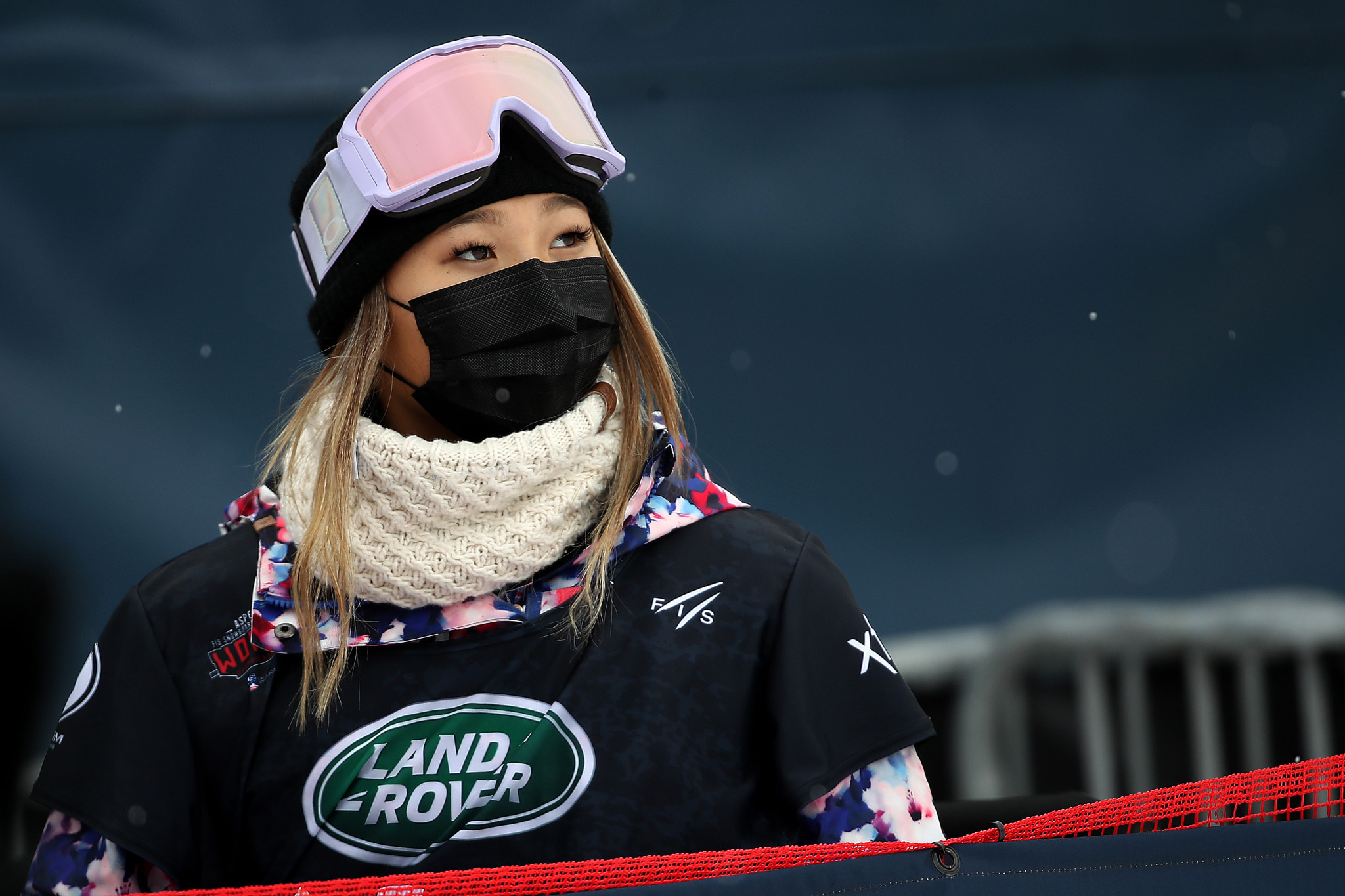 Kim tops halfpipe qualification standings at FIS Snowboard World Cup