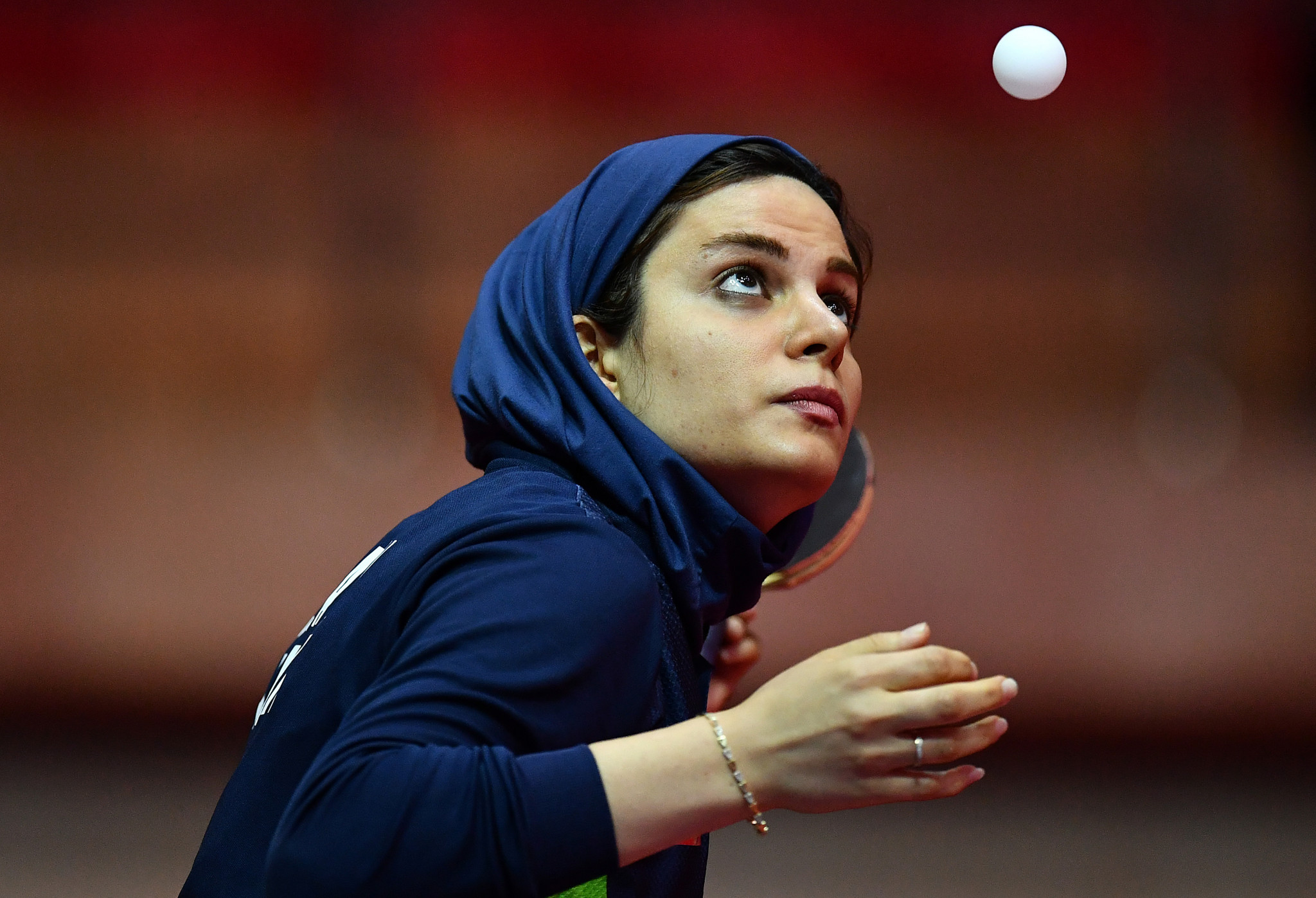 Iran's Shahsavari makes strong start at Asian Olympic Qualification table tennis in Doha