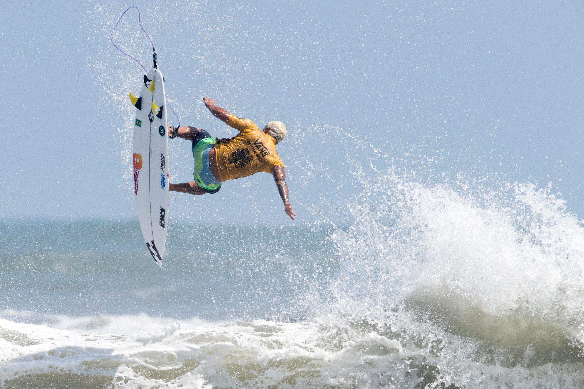 The 2021 World Surfing Games are set to be held in May and June under new COVID-19 protocols ©Getty Images