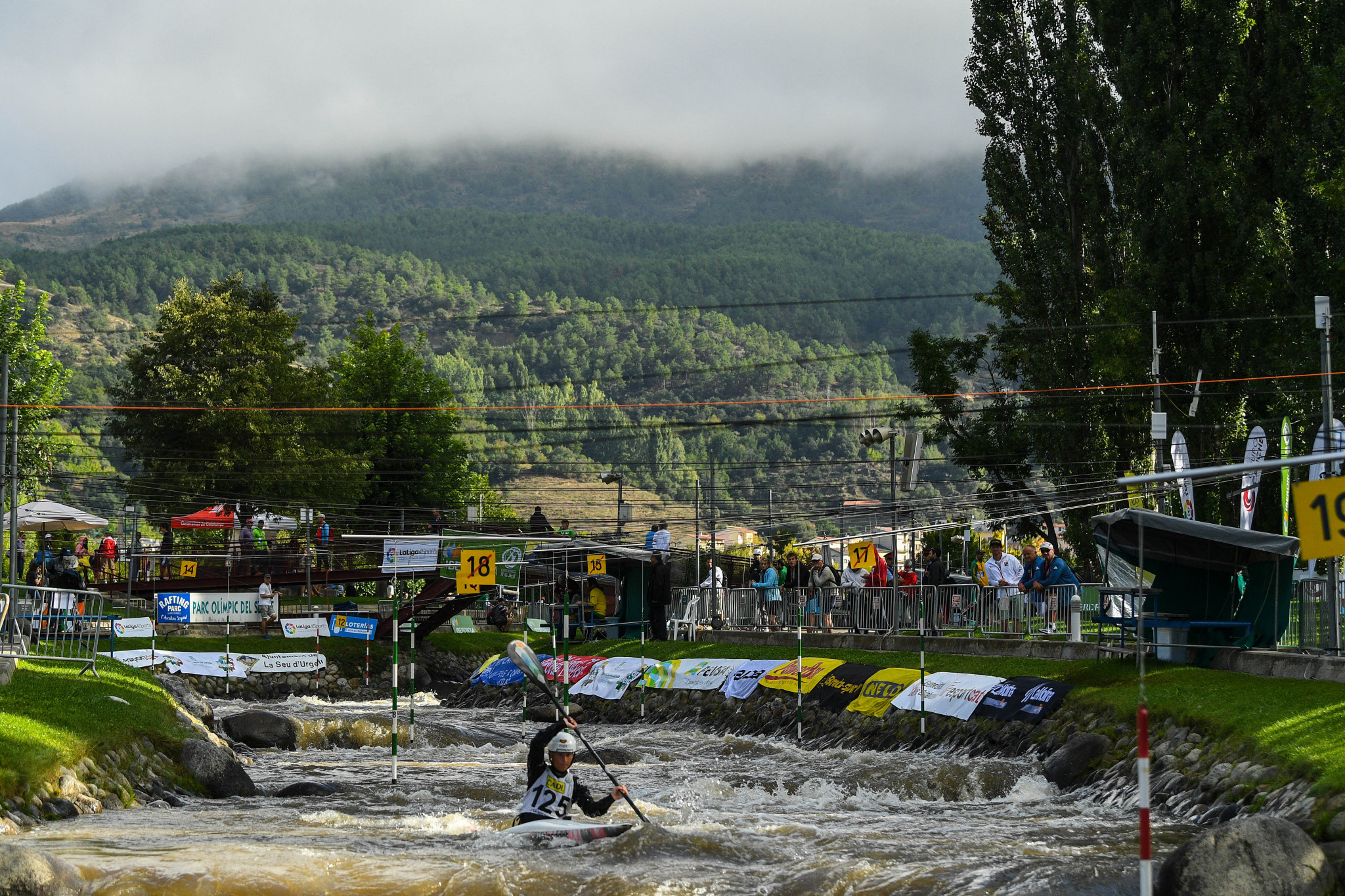 Four canoe slalom places at the Olympics on offer to African paddlers in La Seu