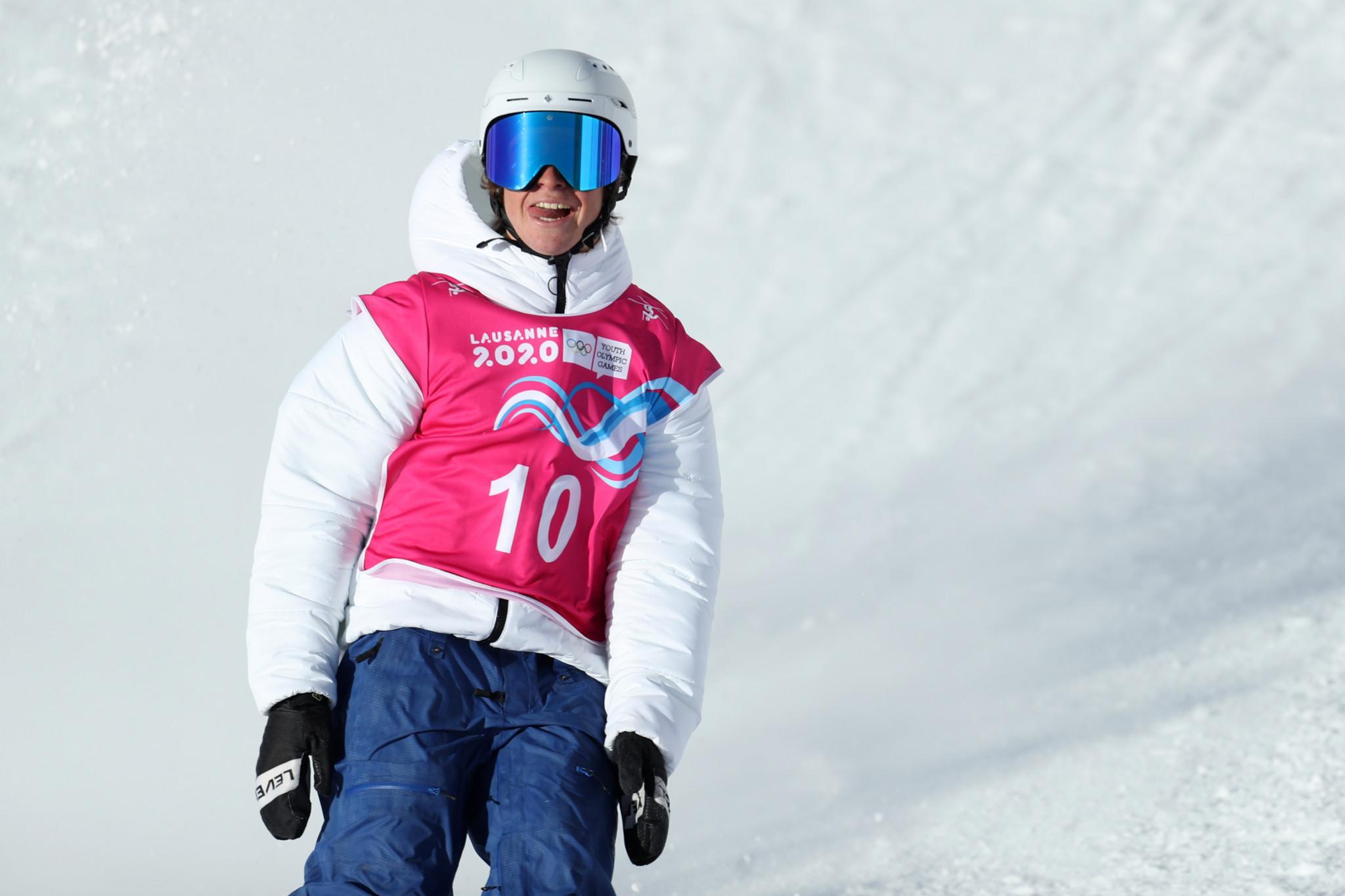 Matej Svancer topped men's qualifying in the freeski slopestyle ©Getty Images