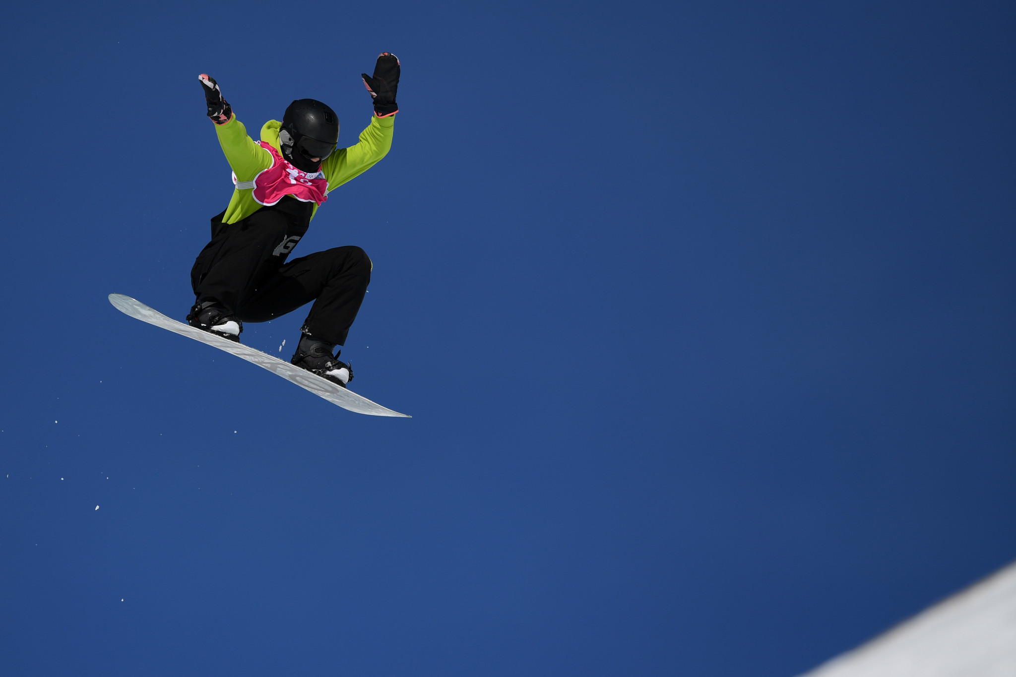 Bianca Gisler finished second in the women's big air qualification ©Getty Images
