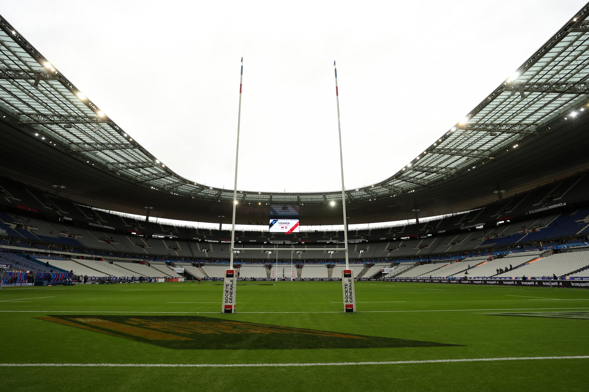 The Stade de France is expected to become a vaccination centre next month ©Getty Images