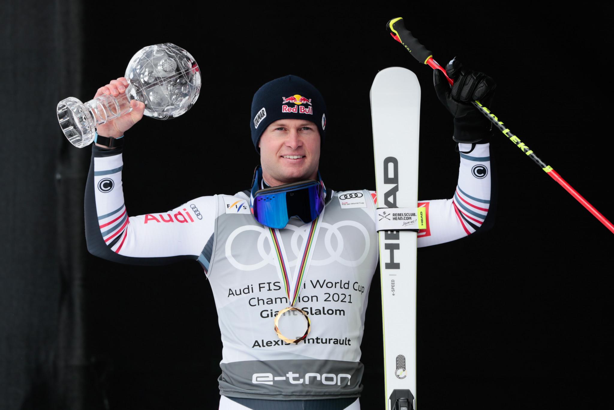 Pinturault and Vlhová seal overall Alpine Ski World Cup titles in Lenzerheide