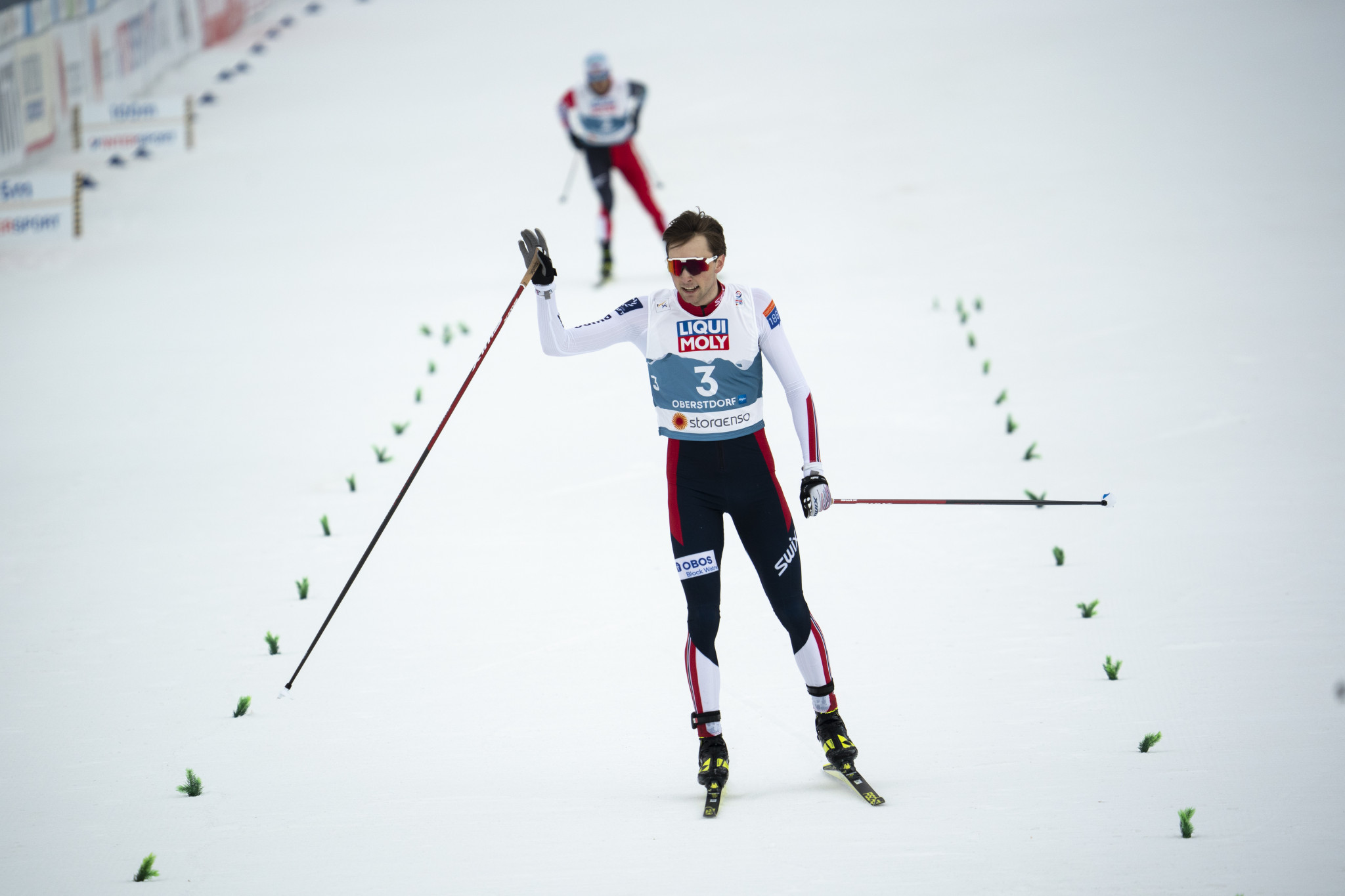 Riiber seals third straight FIS Nordic Combined World Cup title