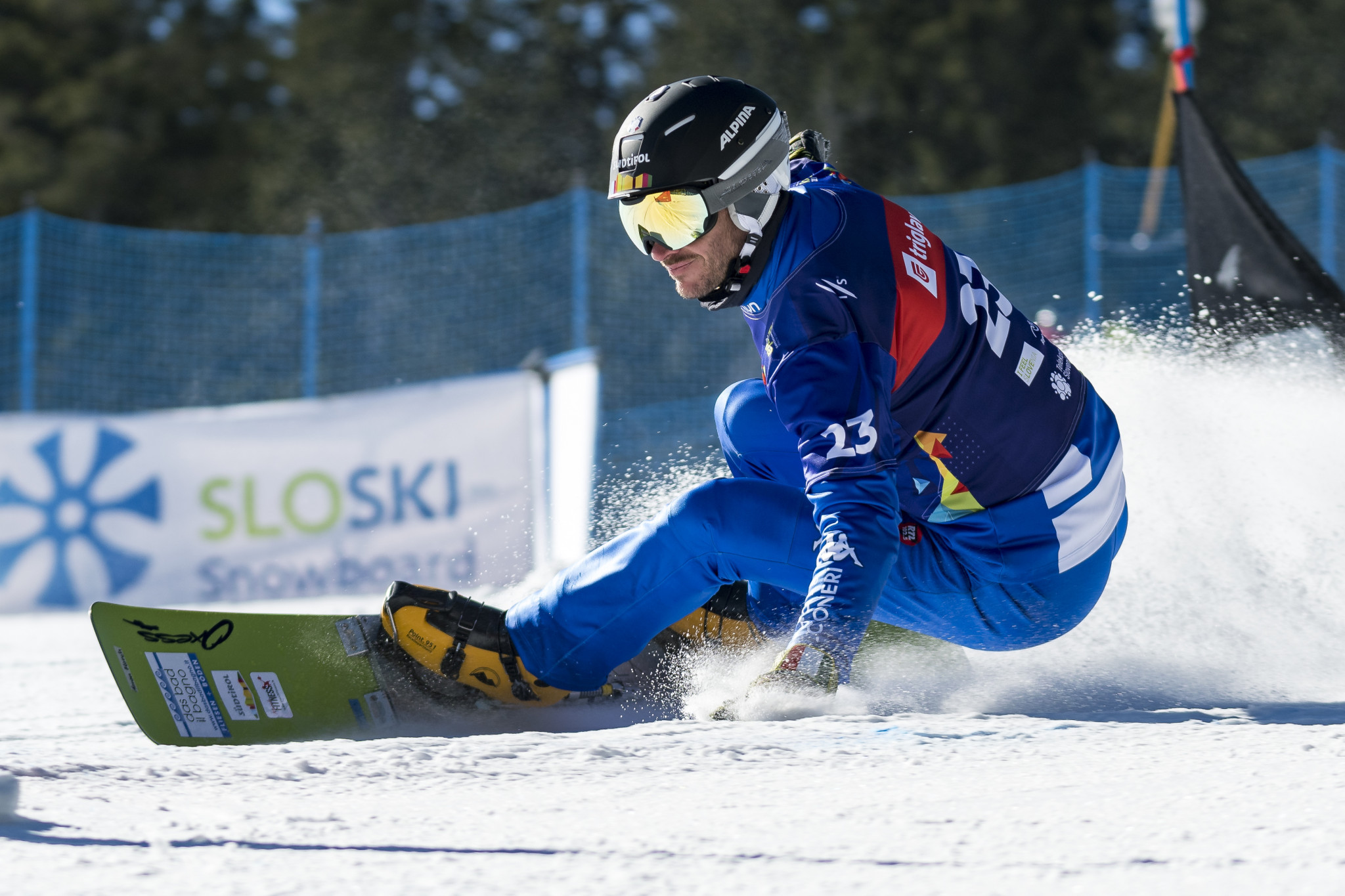 March and Hofmeister crowned overall parallel Snowboard World Cup champions