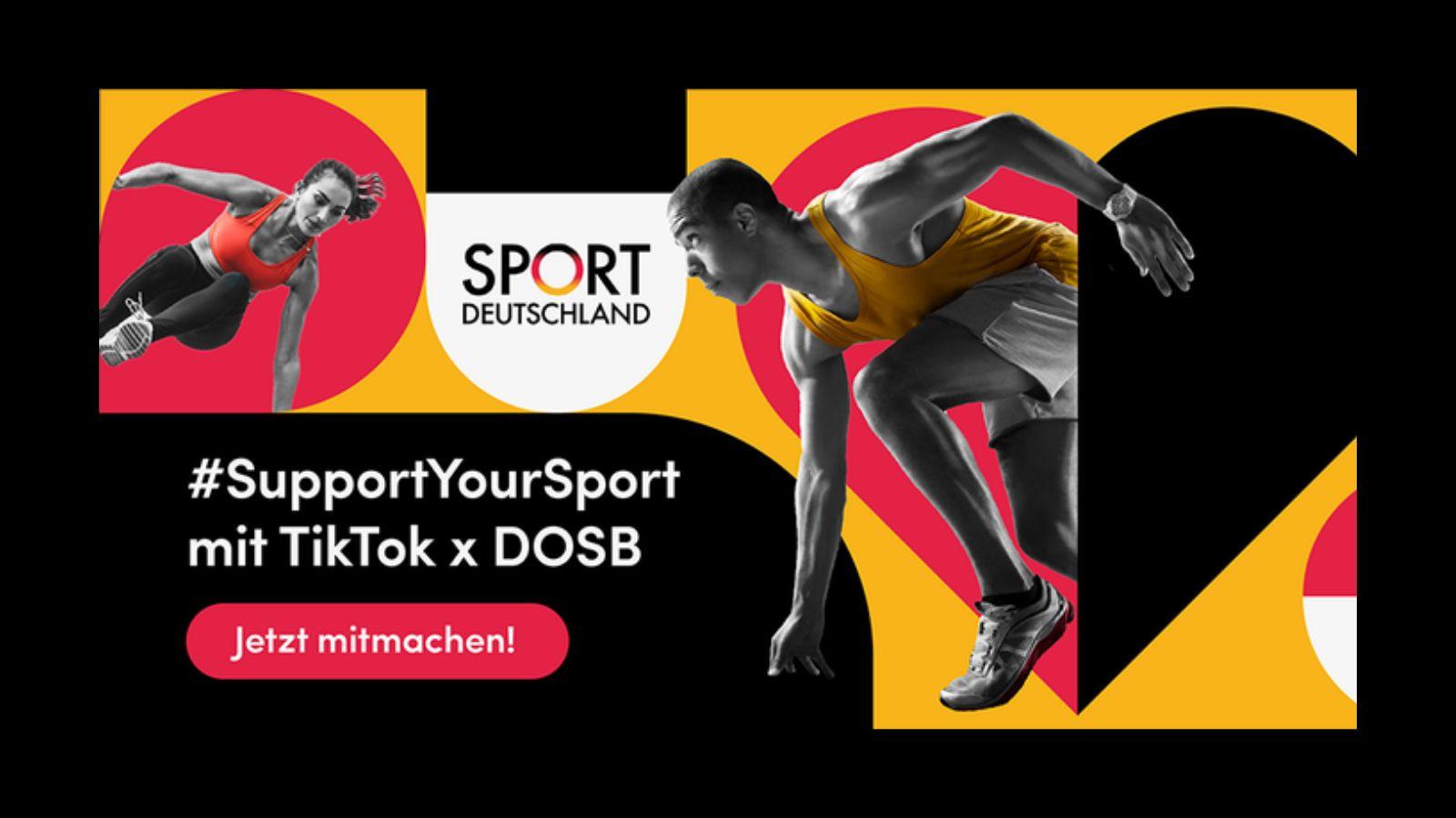 A DOSB and TikTok campaign has raised €100,000 ©DOSB