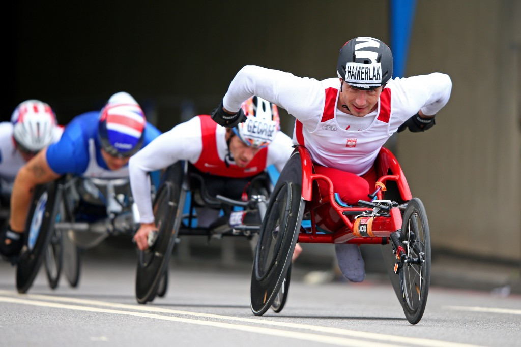 Polish wheelchair racer Tomasz Hamerlak has been suspended for four years after being found guilty of committing an anti-doping rule violation ©Getty Images