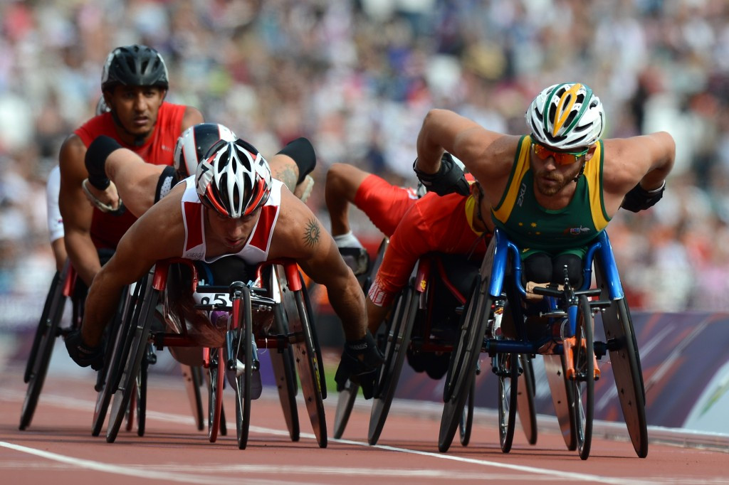 Tomasz Hamerlak, pictured here competing at the London 2012 Paralympic Games, has returned an adverse analytical finding for stanozolol metabolites