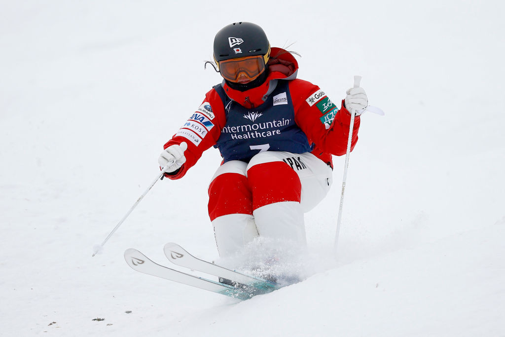 Japan's Anri Kawamura won gold in the women's moguls at the FIS Freeski World Junior Championships in Krasnoyarsk today ©Getty Images