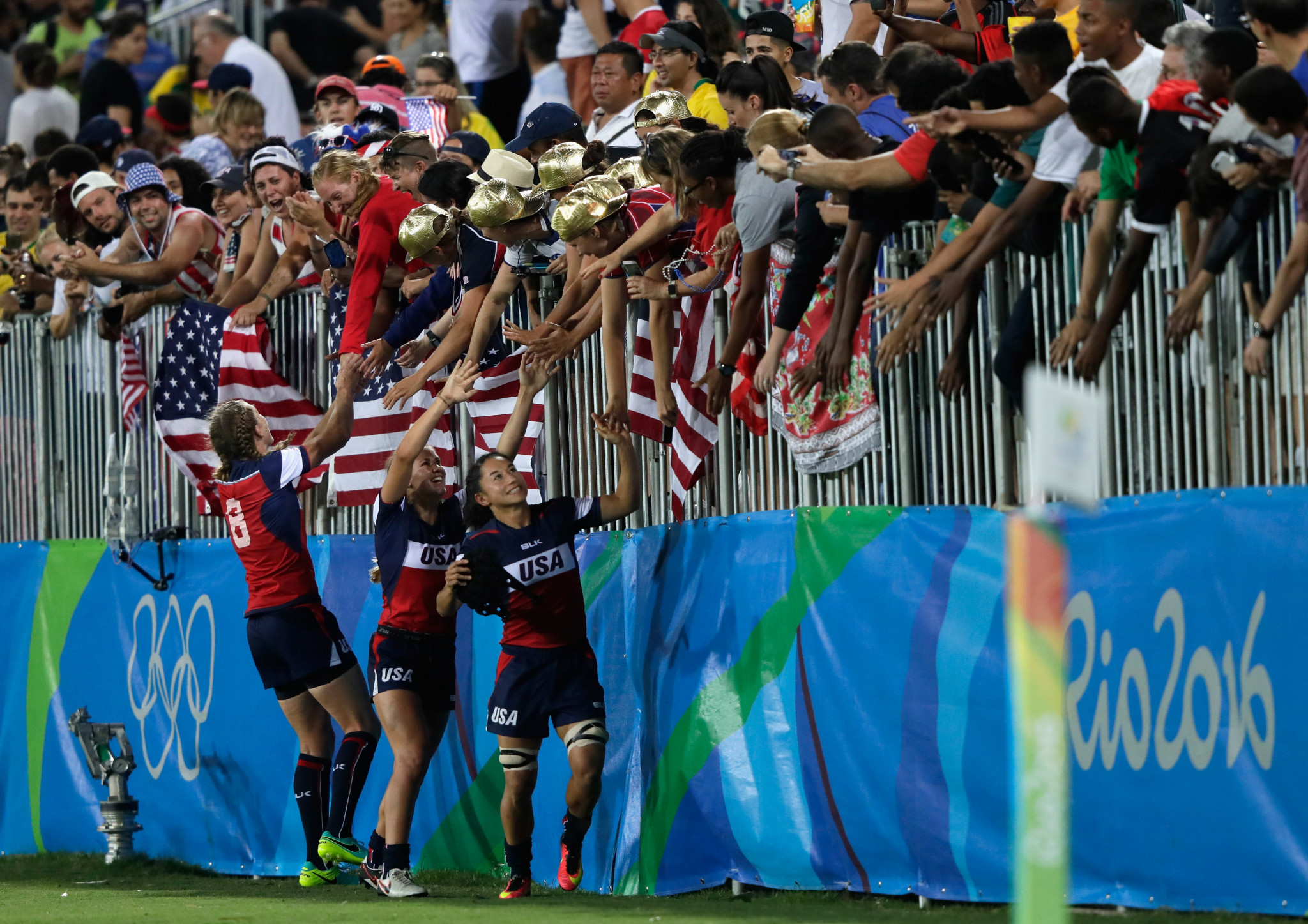 """Sarah Hirshland, chief executive of the USOPC, admitted the decision to ban overseas fans was the news """"we hoped would never come"""" ©Getty Images"""