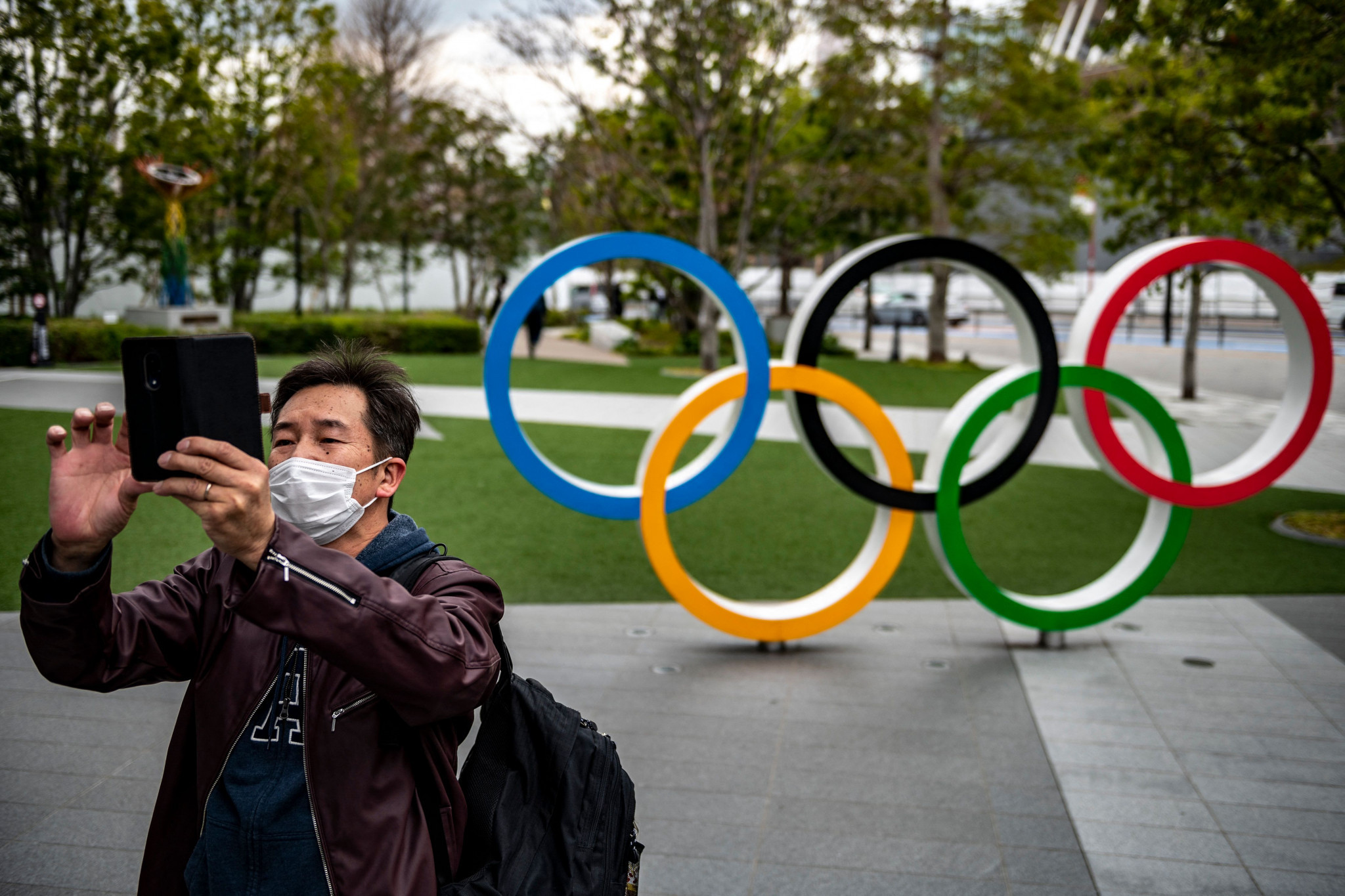 The decision to bar overseas spectators from the Olympic and Paralympics Games was down to the COVID-19 pandemic ©Getty Images