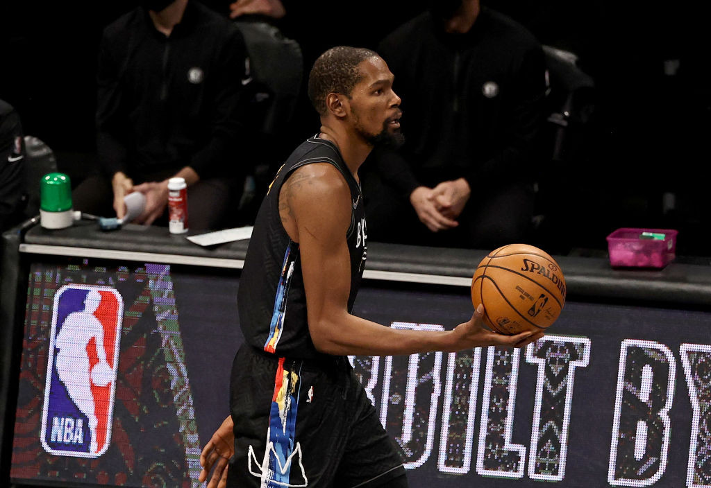 Kevin Durant, star of Brooklyn Nets in the National Basketball League, has invested in the New York-based esports organisation Andbox ©Getty Images