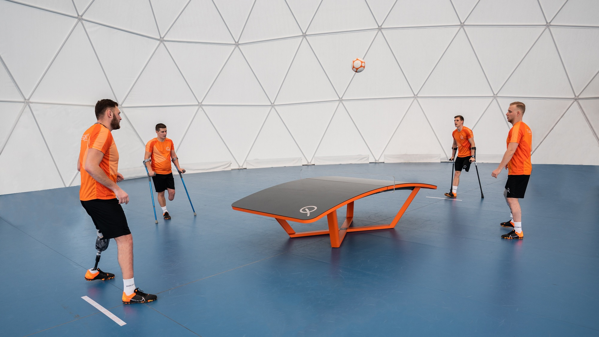 International Federation of Teqball formally launches Para teqball