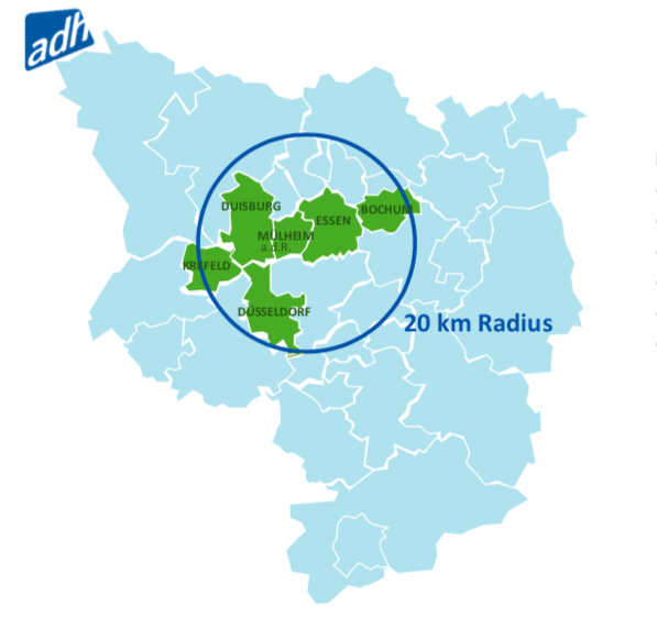 The Rhine-Ruhr bid has been submitted for the 2025 FISU World University Games ©FISU