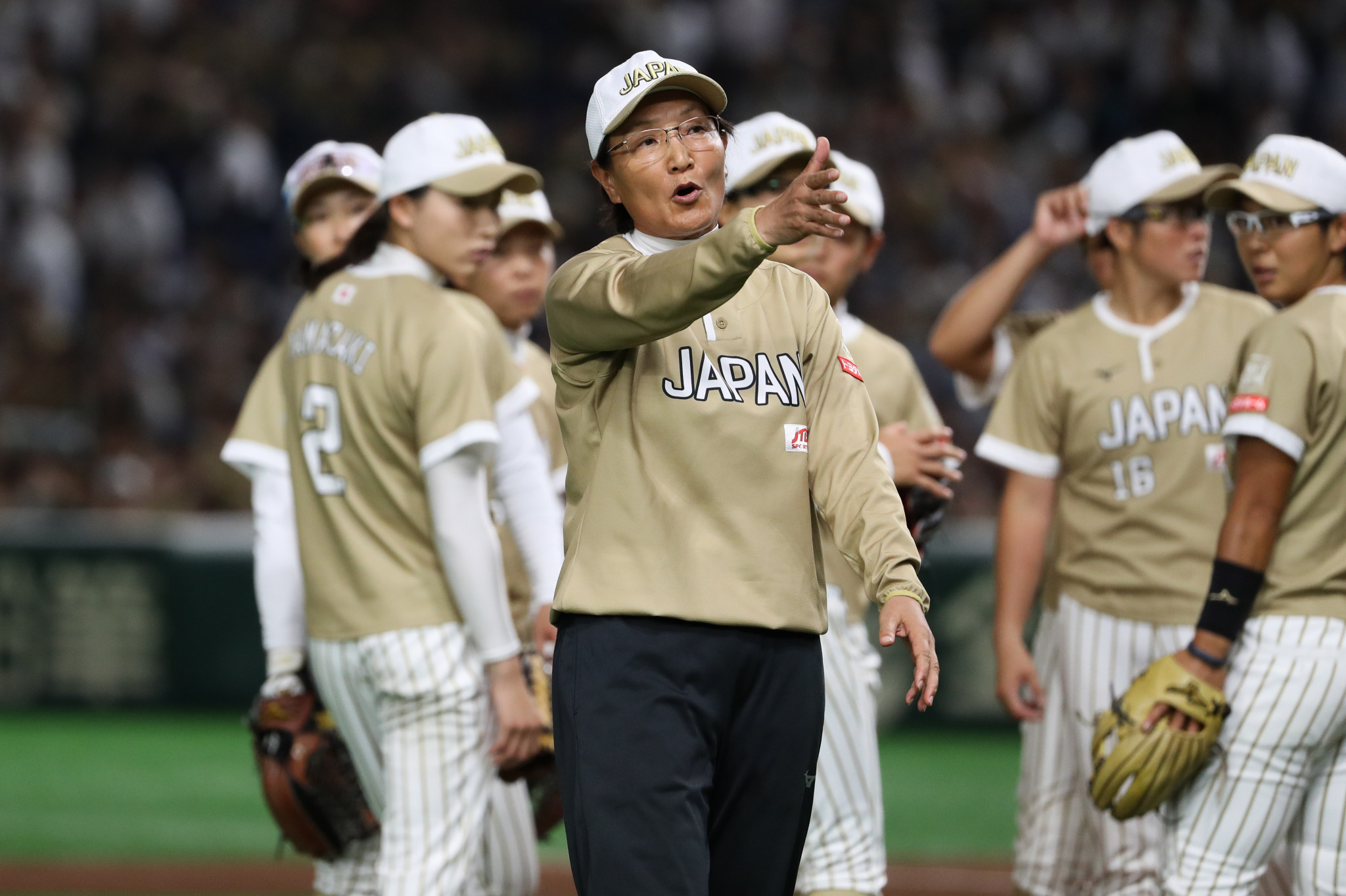 Head coach Reika Utsugi is targeting gold at Tokyo 2020 ©Getty Images