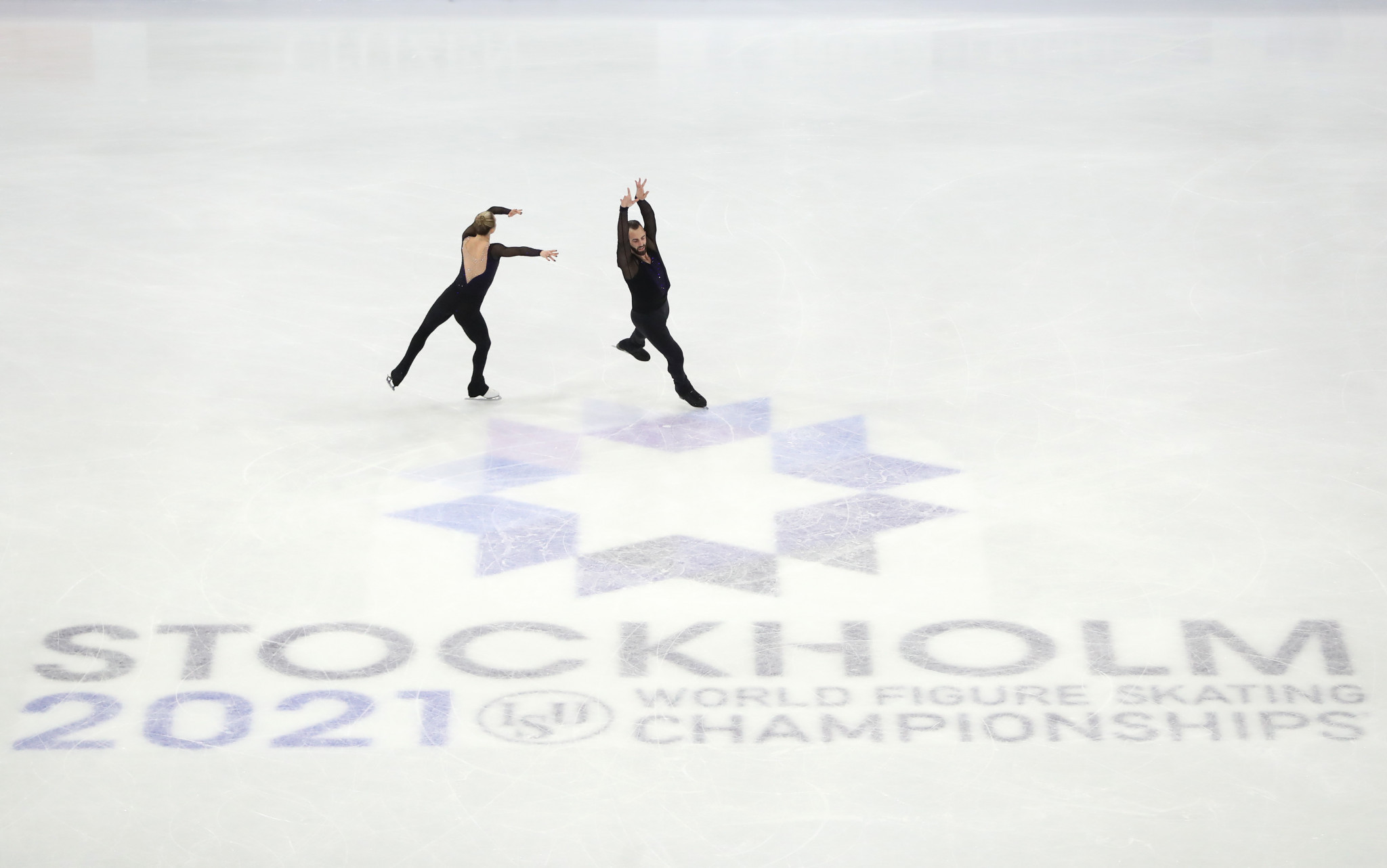 The International Skating Union has confirmed two positive COVID-19 cases at the World Figure Skating Championships in Stockholm, but says neither individual entered the bubble ©Getty Images