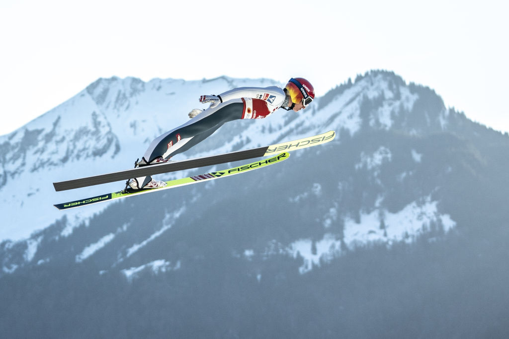 Marita Kramer, winner of both events at last weekend's women's Ski Jumping World Cup in Nizhny Tagil, topped qualifying for the first of this weekend's World Cup events in Chaikovsky ©Getty Images