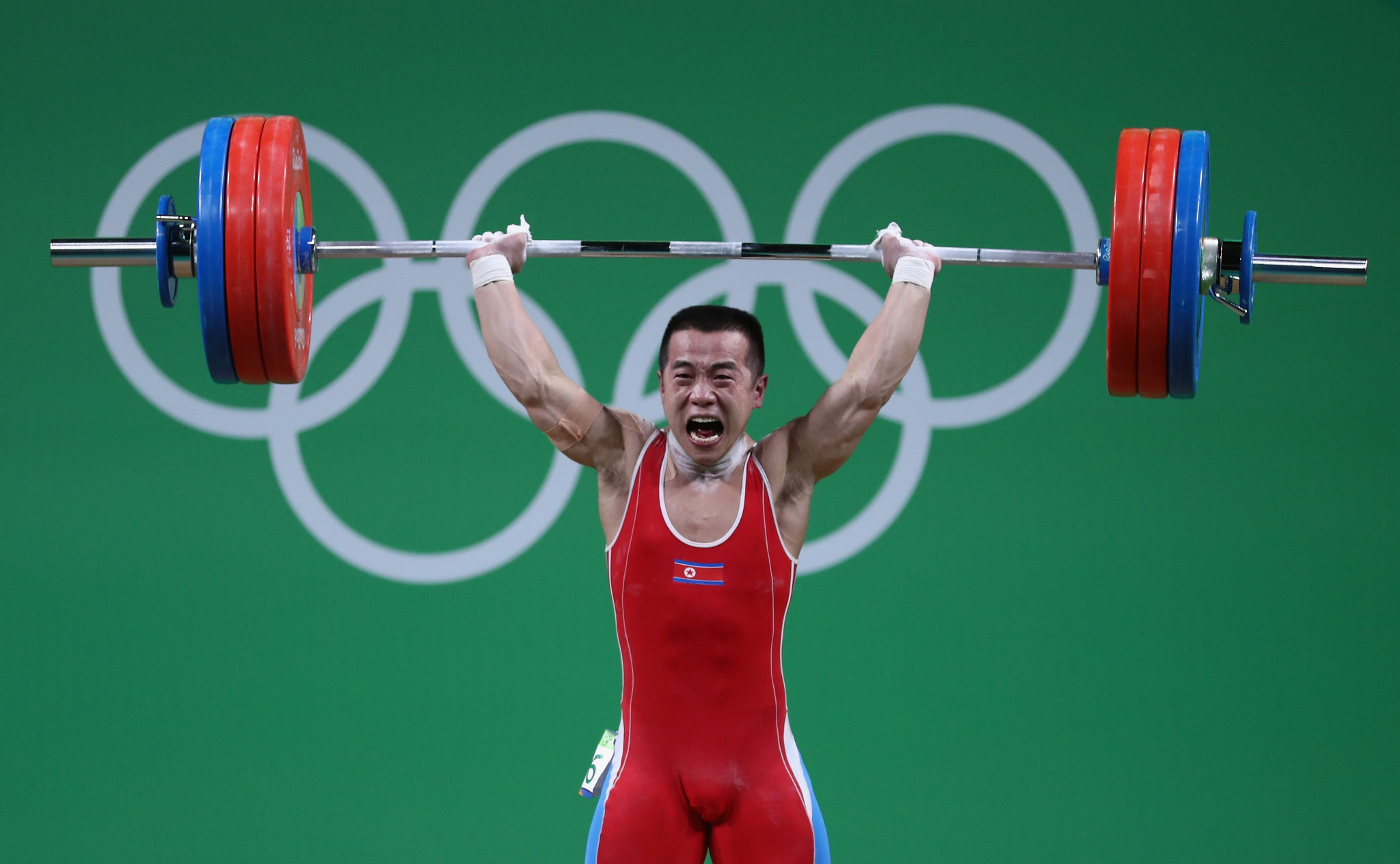North Korean weightlifters such as Om Yun-chol have not been subject to international anti-doping tests in more than a year because of the pandemic