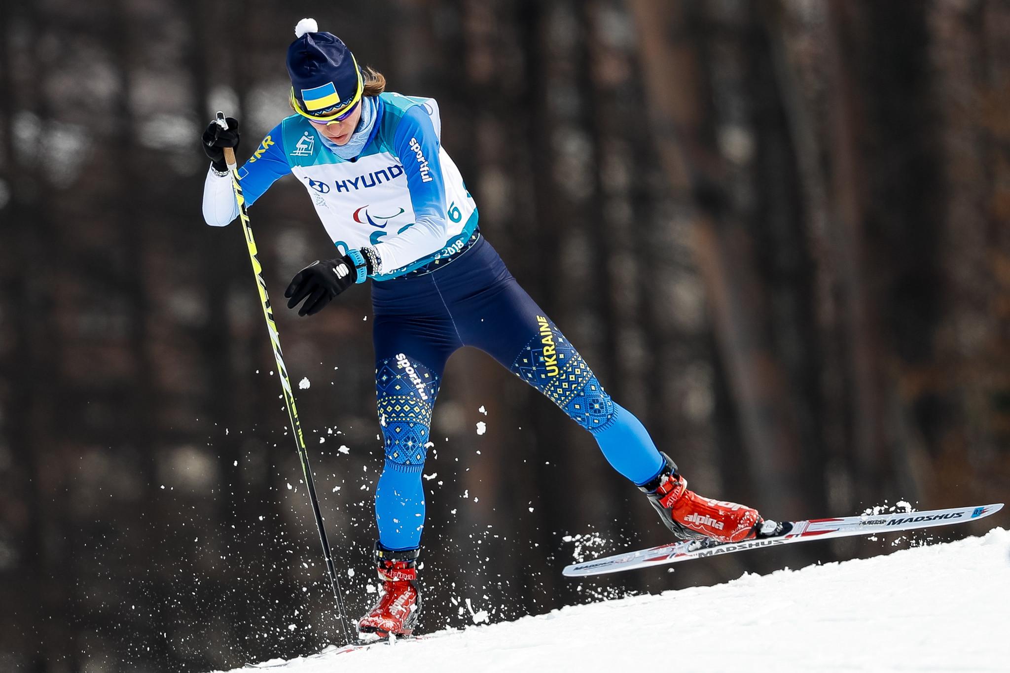 Liudmyla Liashenko won the the women's 6km biathlon standing final in Vuokatti ©Getty Images
