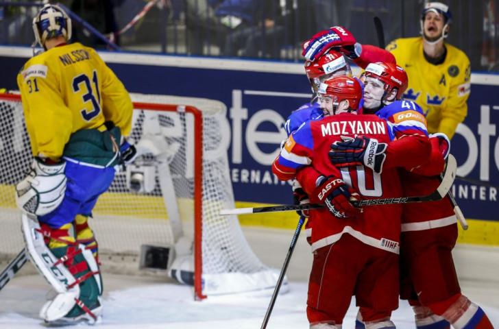 Russia got the better of Sweden in Ostrava